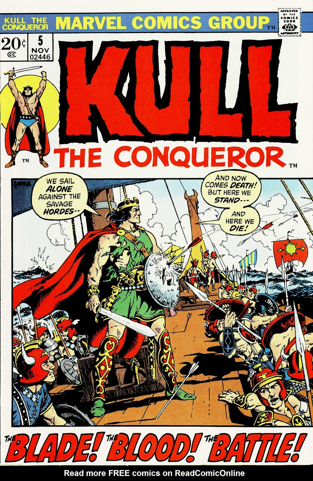Kull, the Conqueror (1971) issue 5 - Page 1
