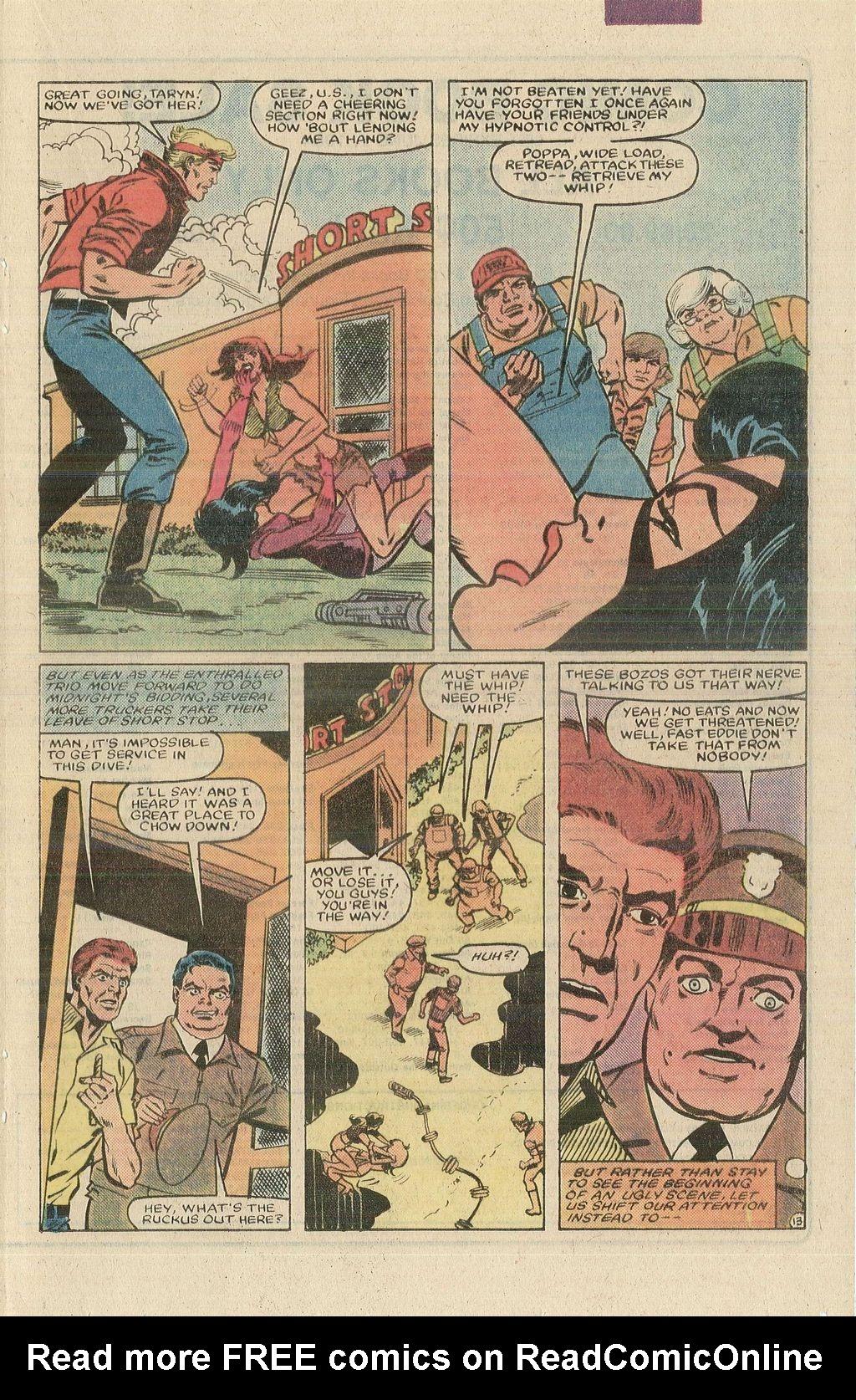 Read online U.S. 1 comic -  Issue #9 - 17