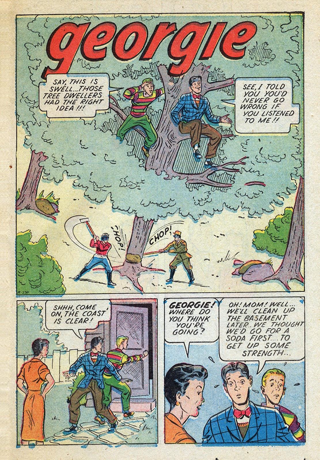 Georgie Comics (1945) issue 4 - Page 27