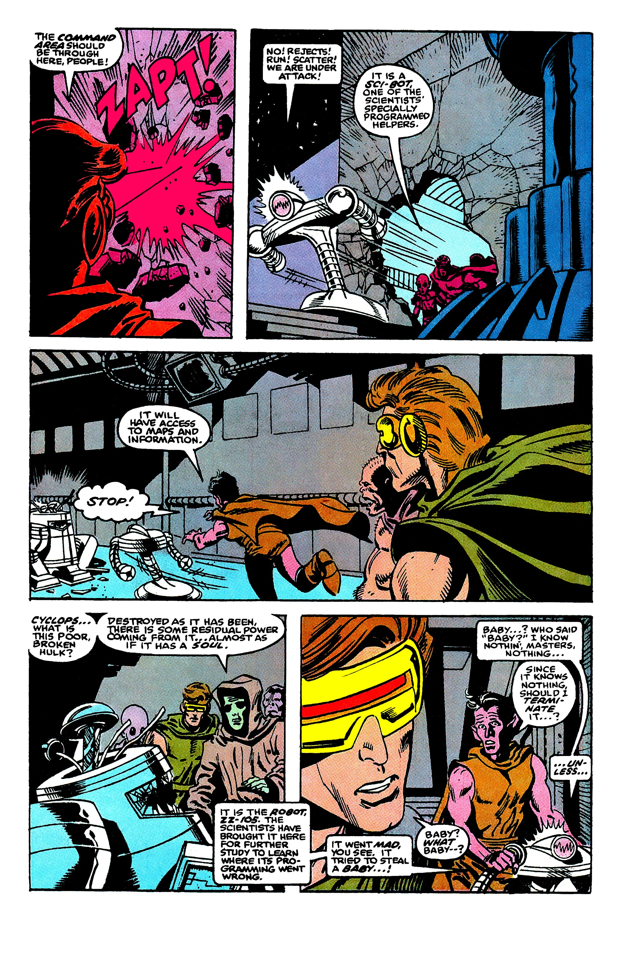 Read online X-Factor (1986) comic -  Issue #50 - 7