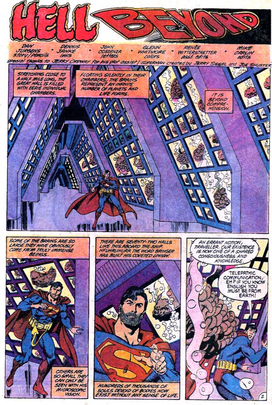 Read online Adventures of Superman (1987) comic -  Issue #452 - 3