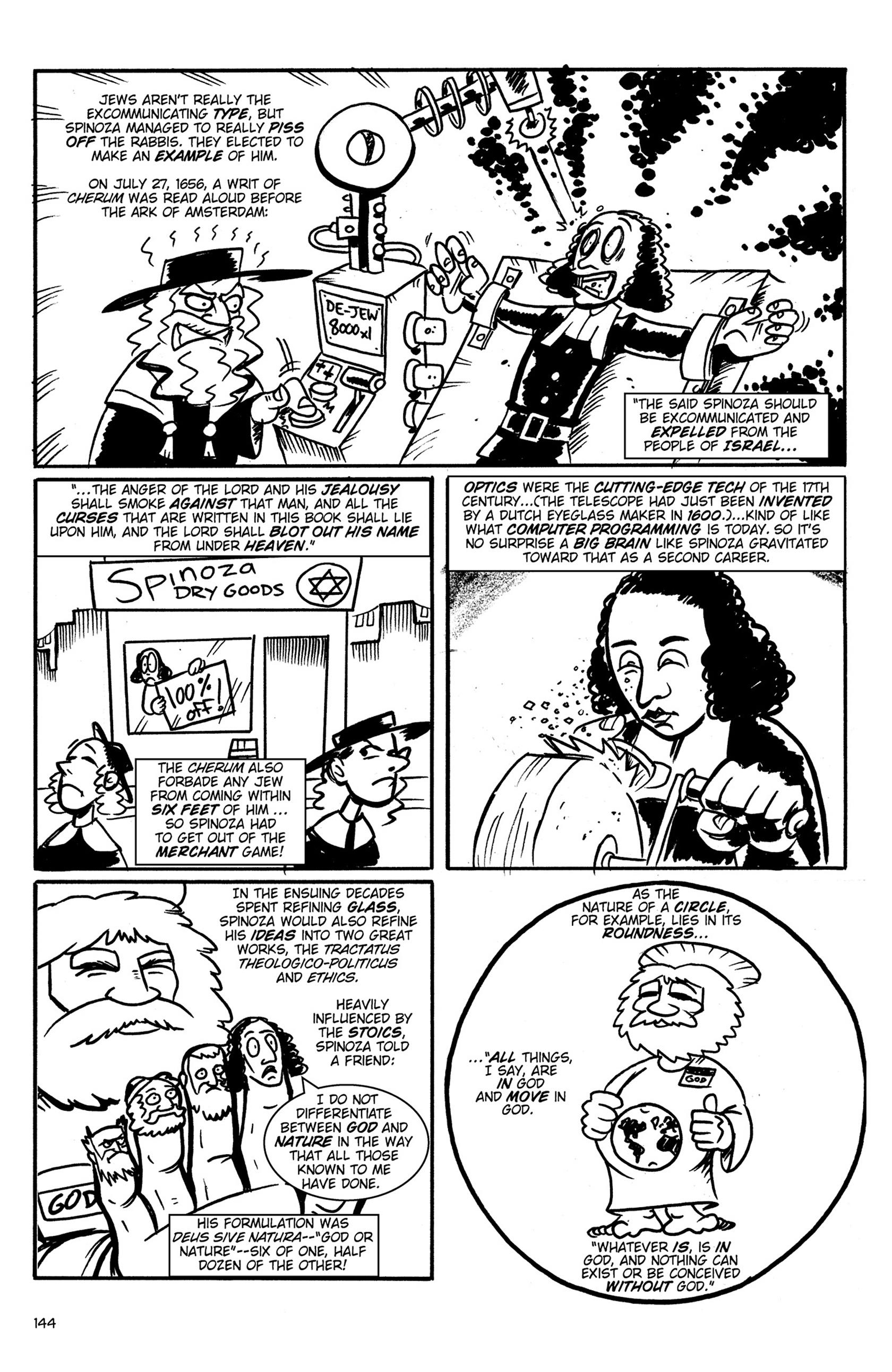 Read online Action Philosophers! comic -  Issue #Action Philosophers! TPB (Part 1) - 142