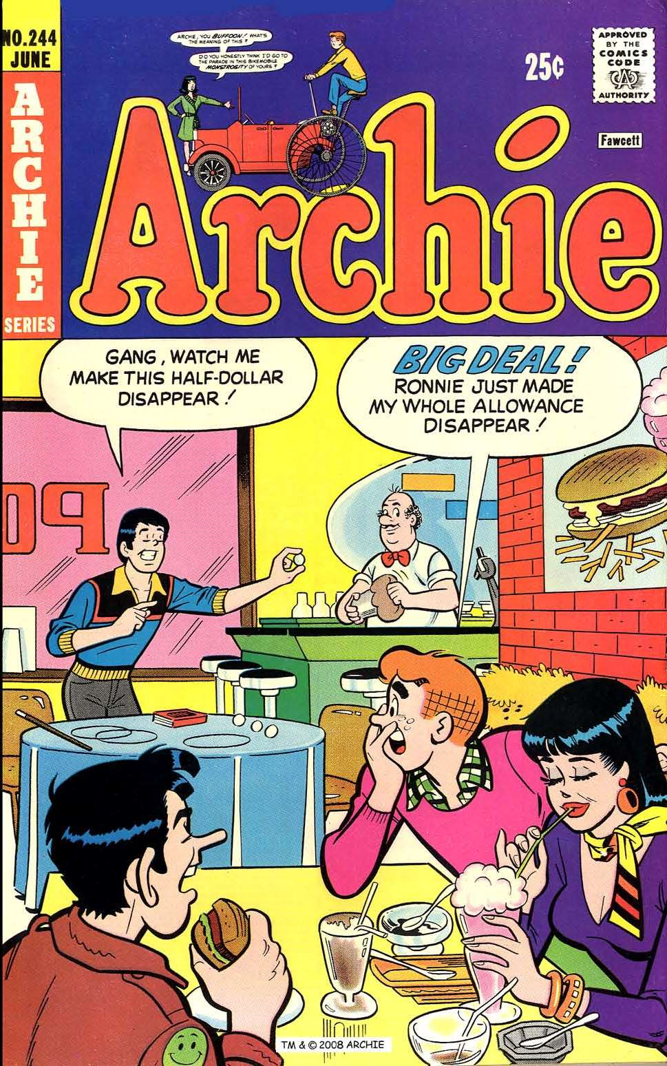 Read online Archie (1960) comic -  Issue #244 - 1