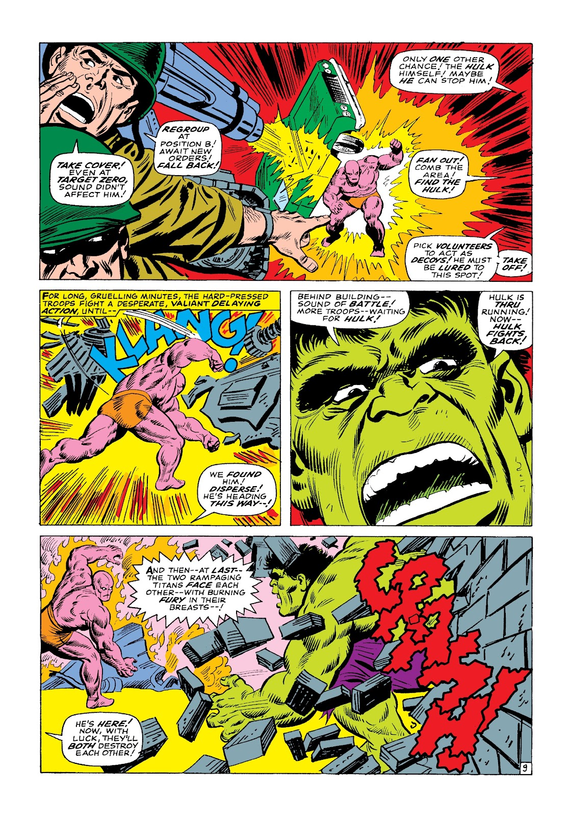 Read online Marvel Masterworks: The Incredible Hulk comic -  Issue # TPB 3 (Part 1) - 82