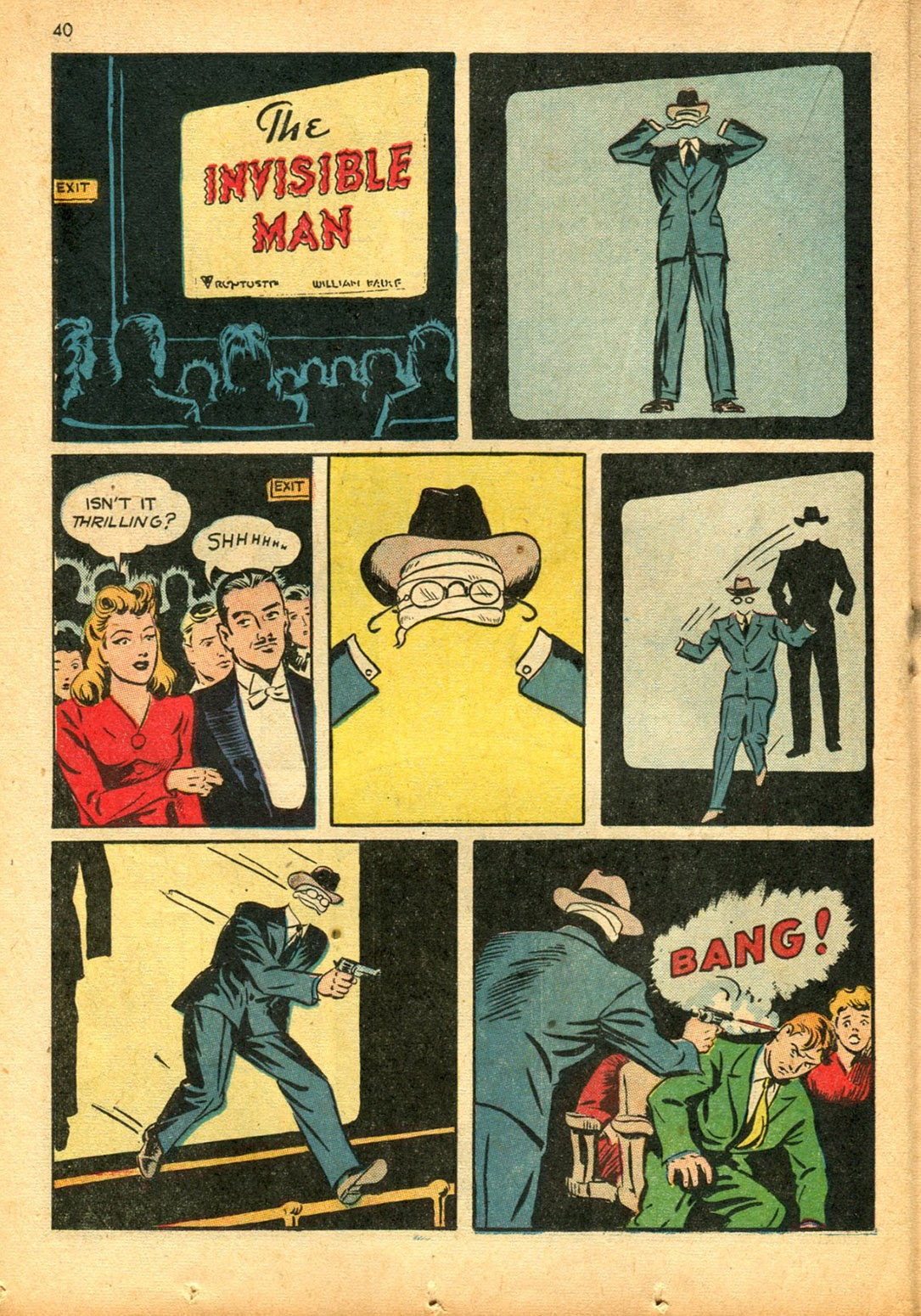 Read online Super-Magician Comics comic -  Issue #15 - 39