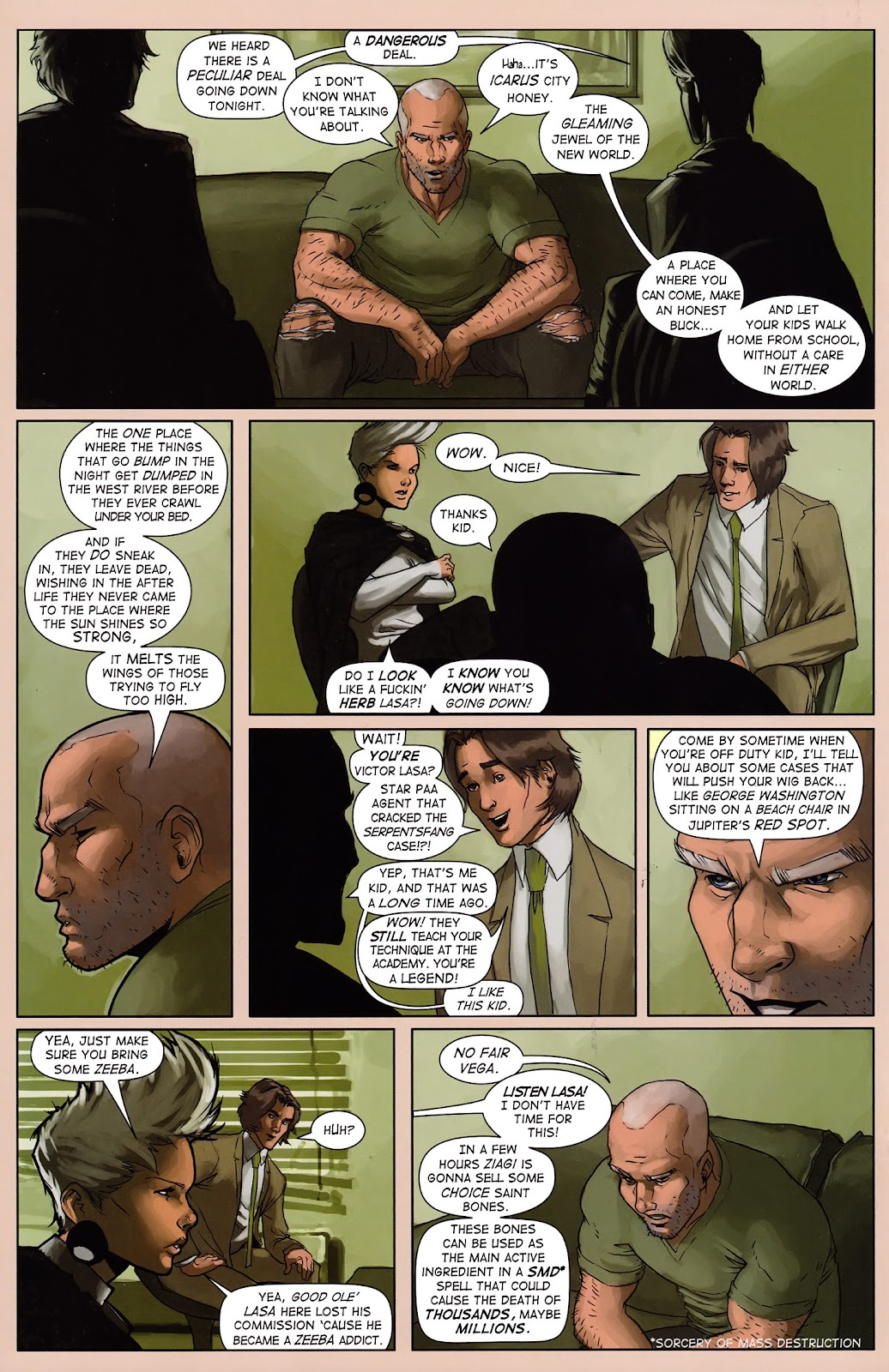 Read online Vescell comic -  Issue #3 - 16
