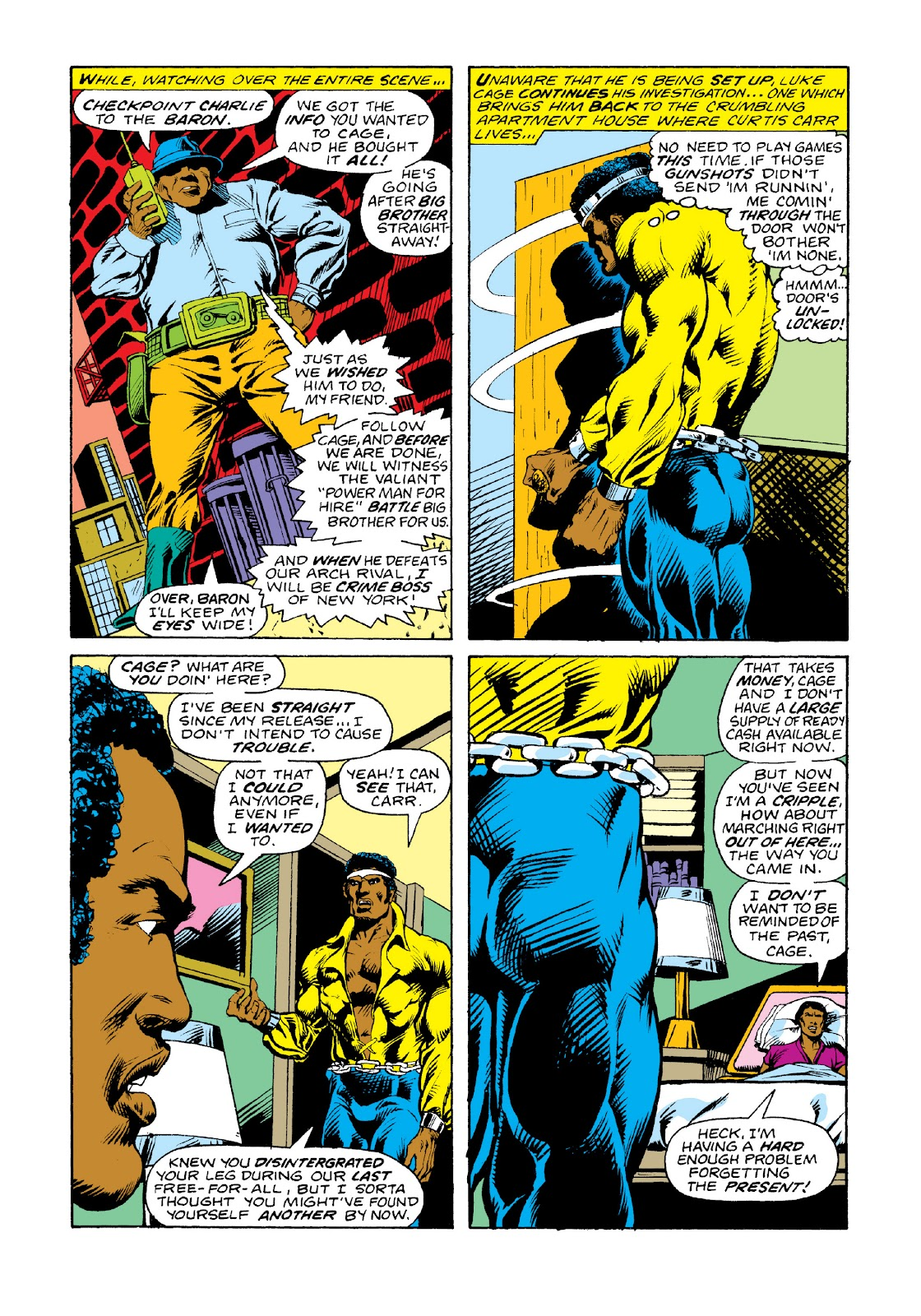 Read online Marvel Masterworks: Luke Cage, Power Man comic -  Issue # TPB 3 (Part 2) - 28