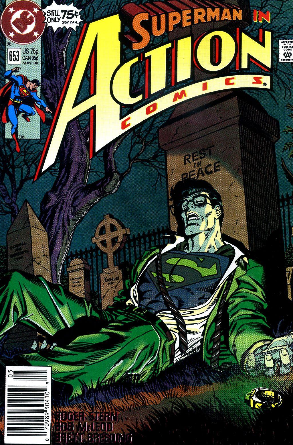Action Comics (1938) 653 Page 1