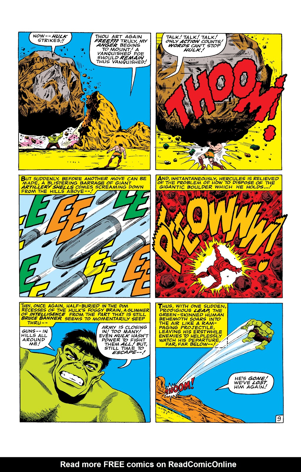 Read online Marvel Masterworks: The Incredible Hulk comic -  Issue # TPB 2 (Part 3) - 42
