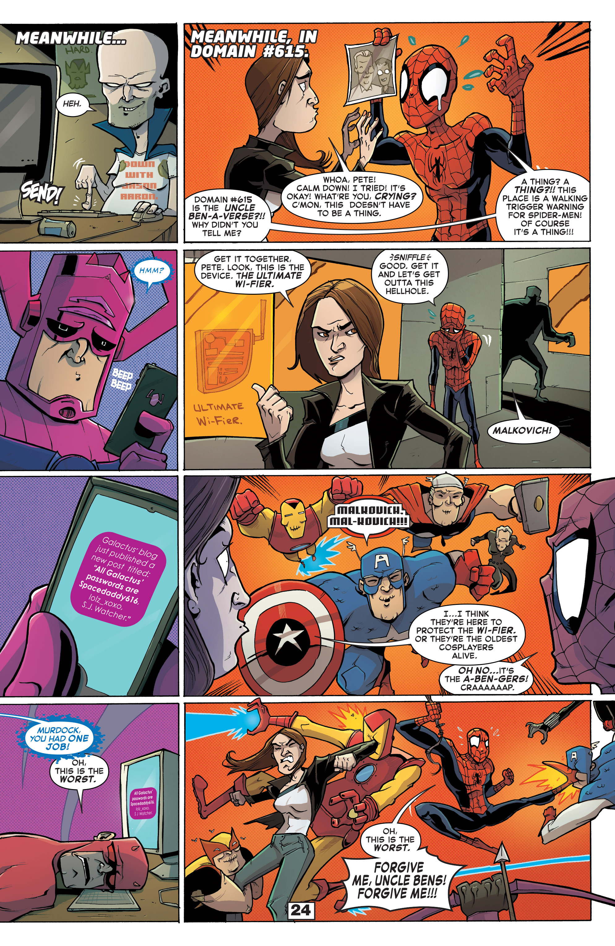 Read online Secret Wars Too comic -  Issue # Full - 26