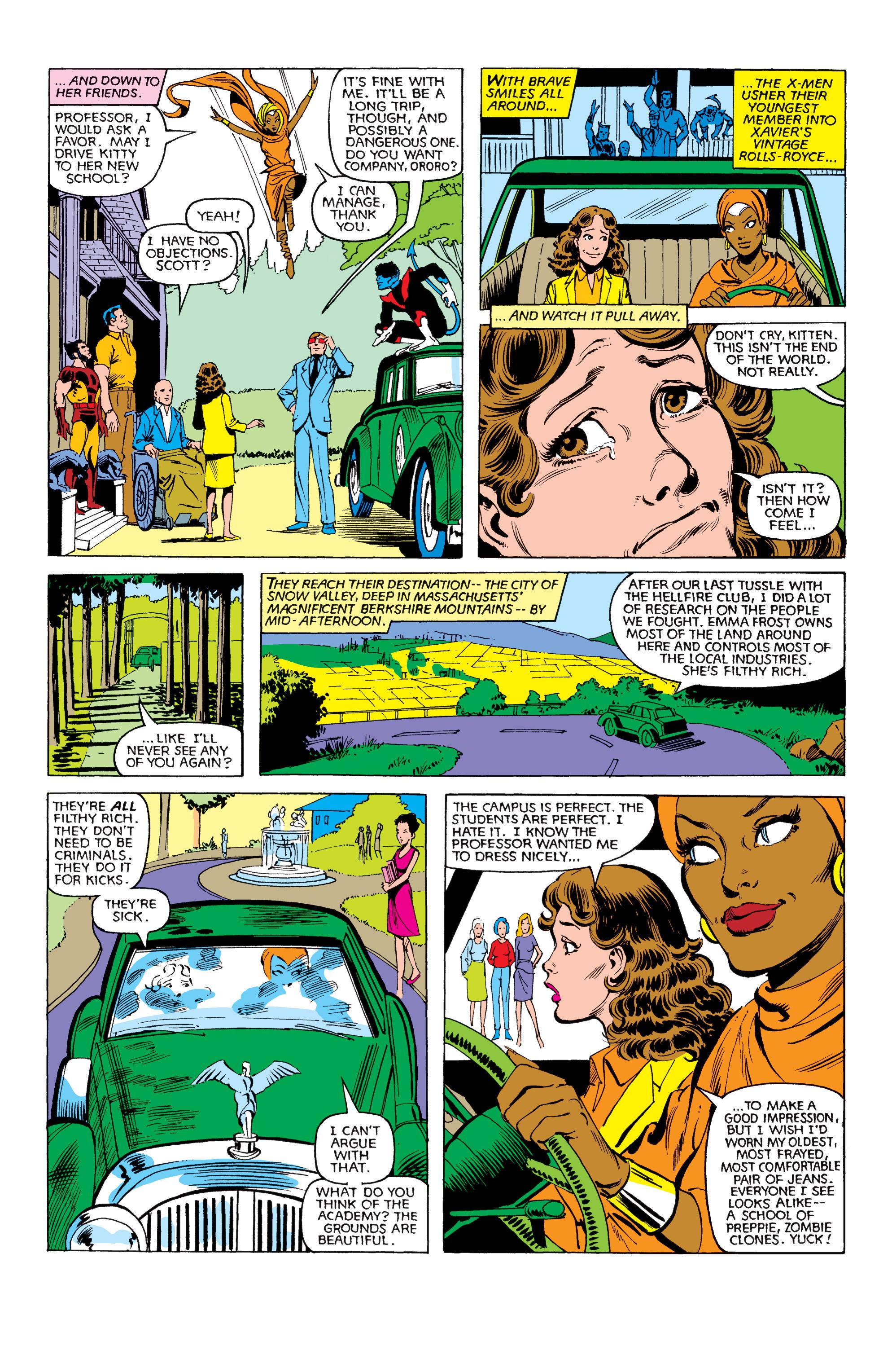Read online Uncanny X-Men (1963) comic -  Issue #151 - 8