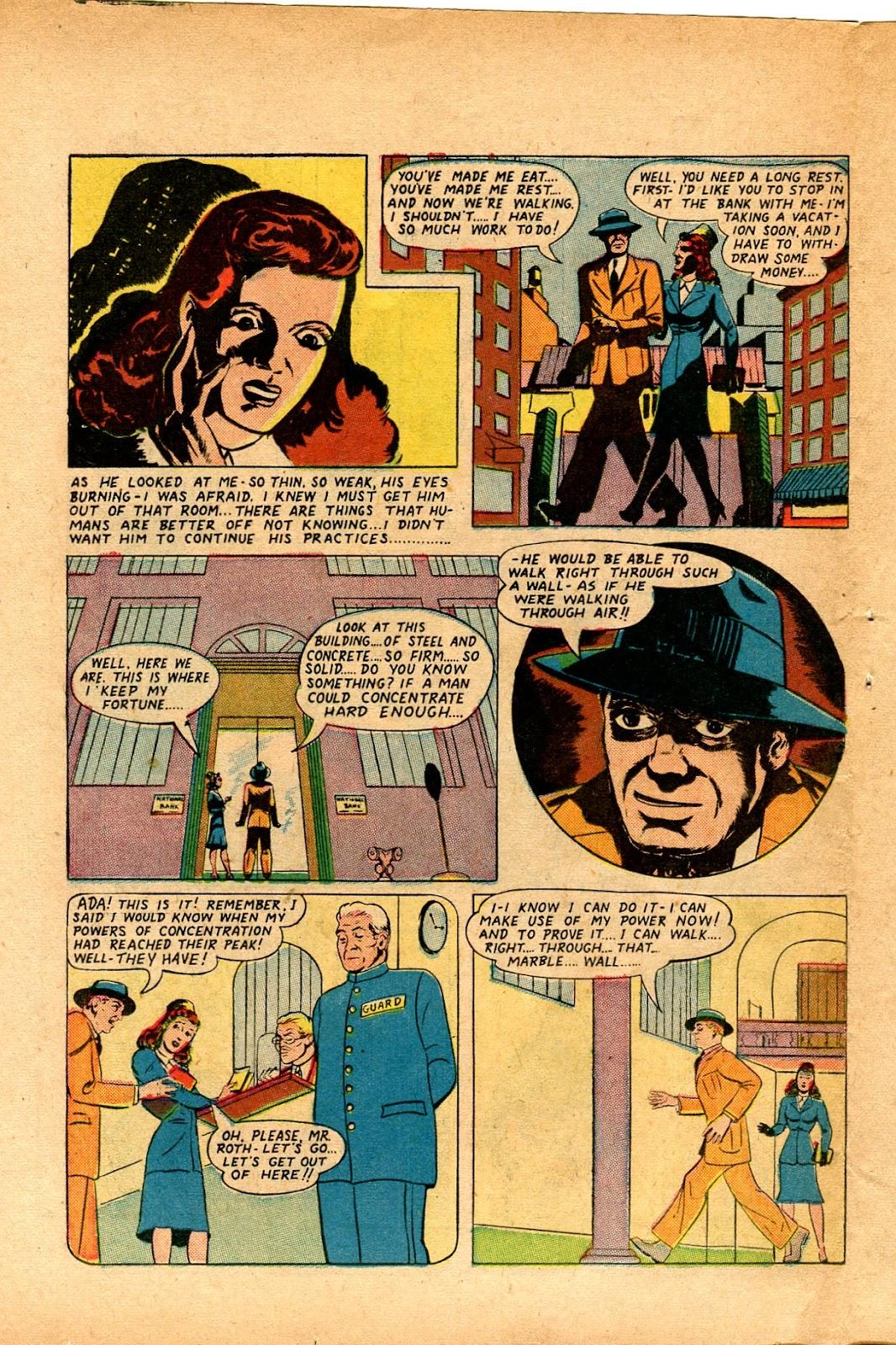 Read online Super-Magician Comics comic -  Issue #33 - 34