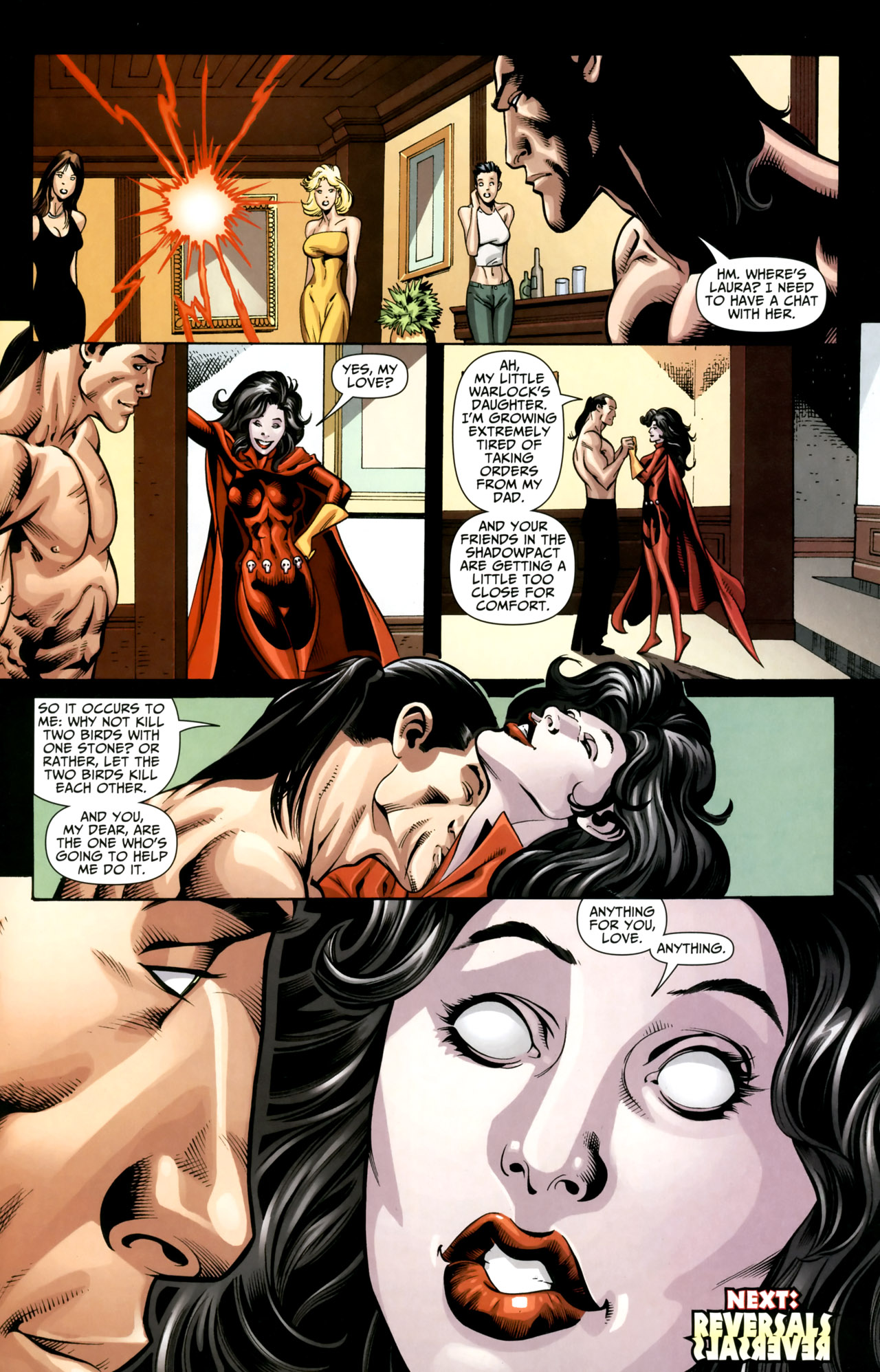 Read online Shadowpact comic -  Issue #18 - 23