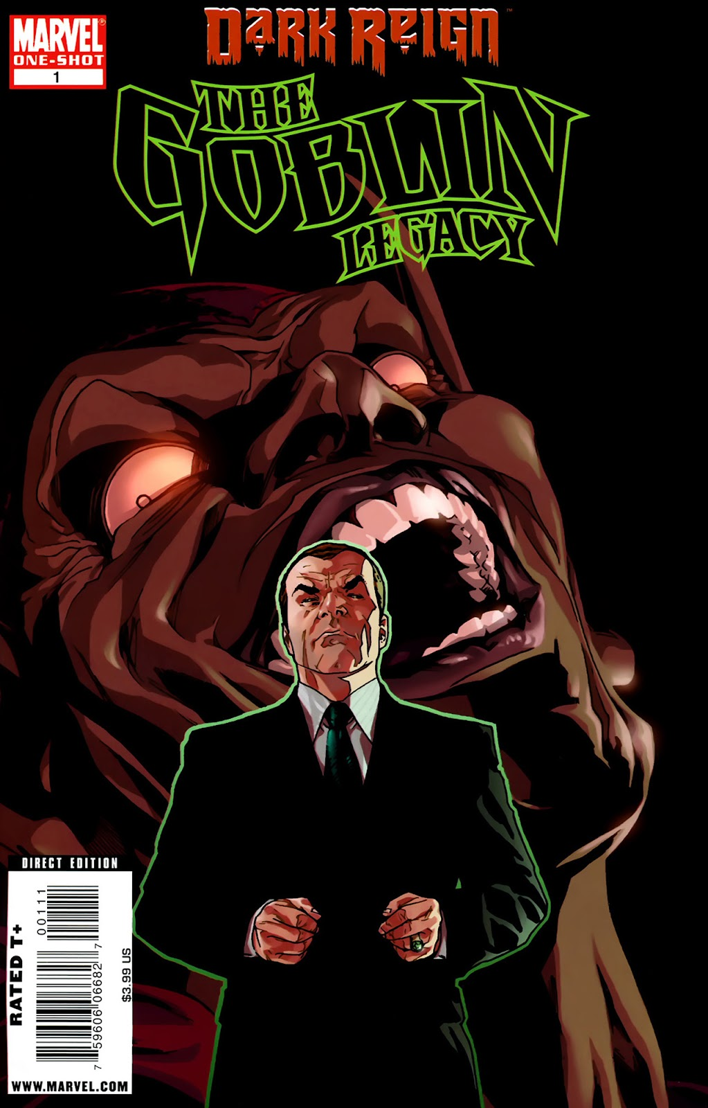 Dark Reign: The Goblin Legacy issue Full - Page 1