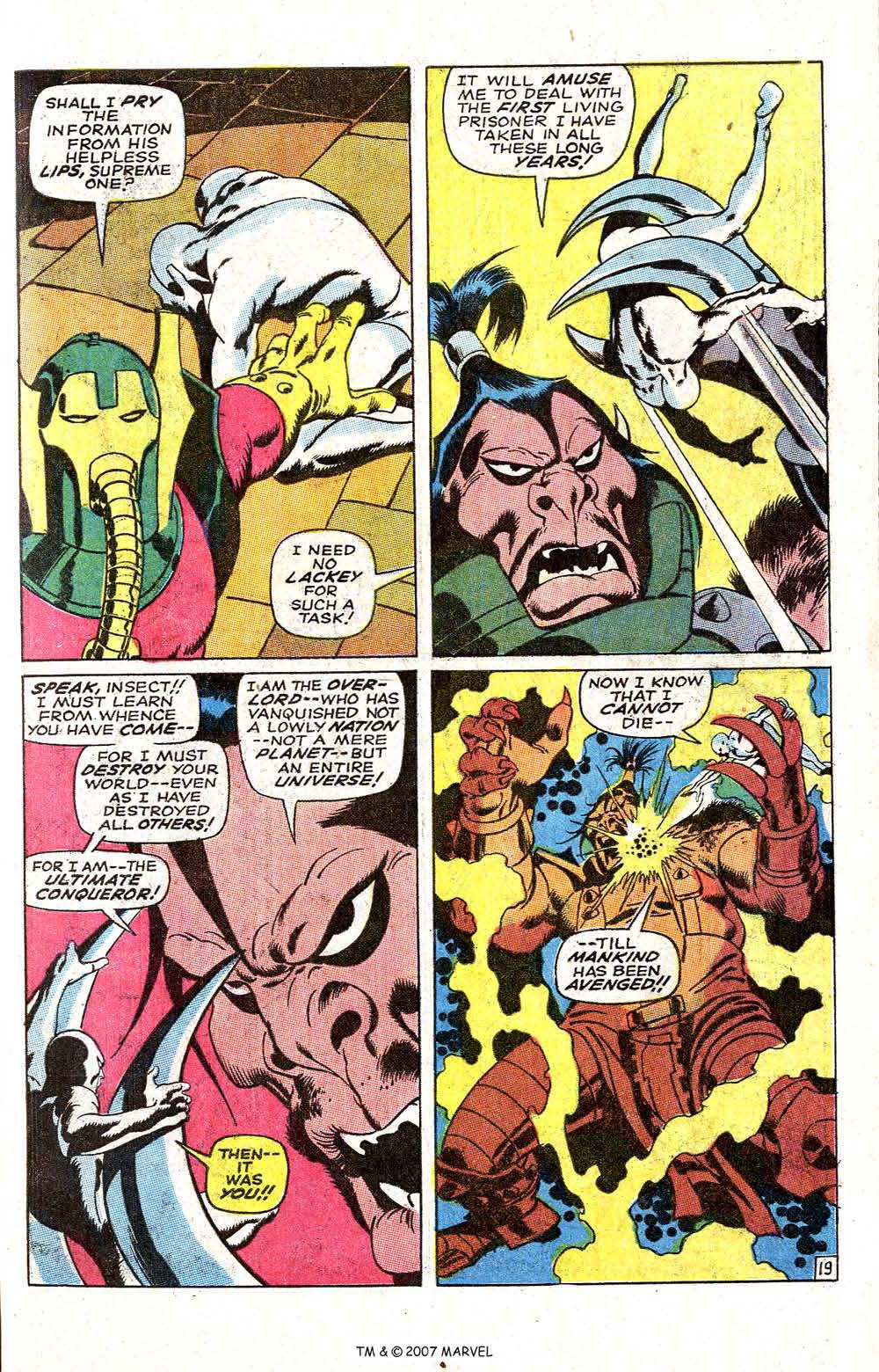 Silver Surfer (1968) issue 6 - Page 25