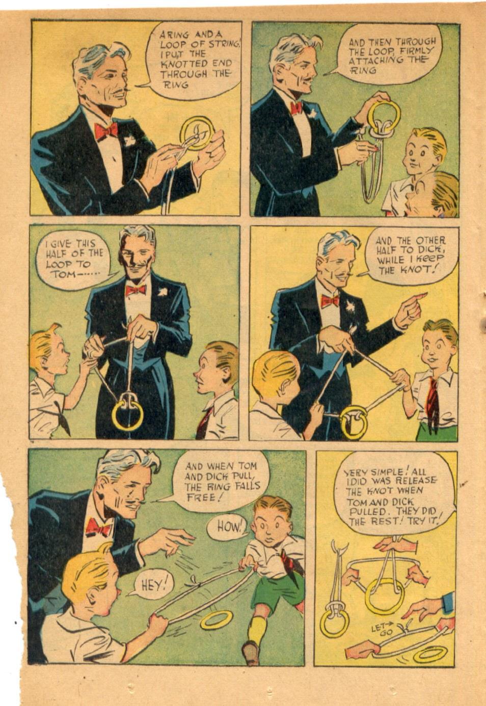 Read online Super-Magician Comics comic -  Issue #43 - 22