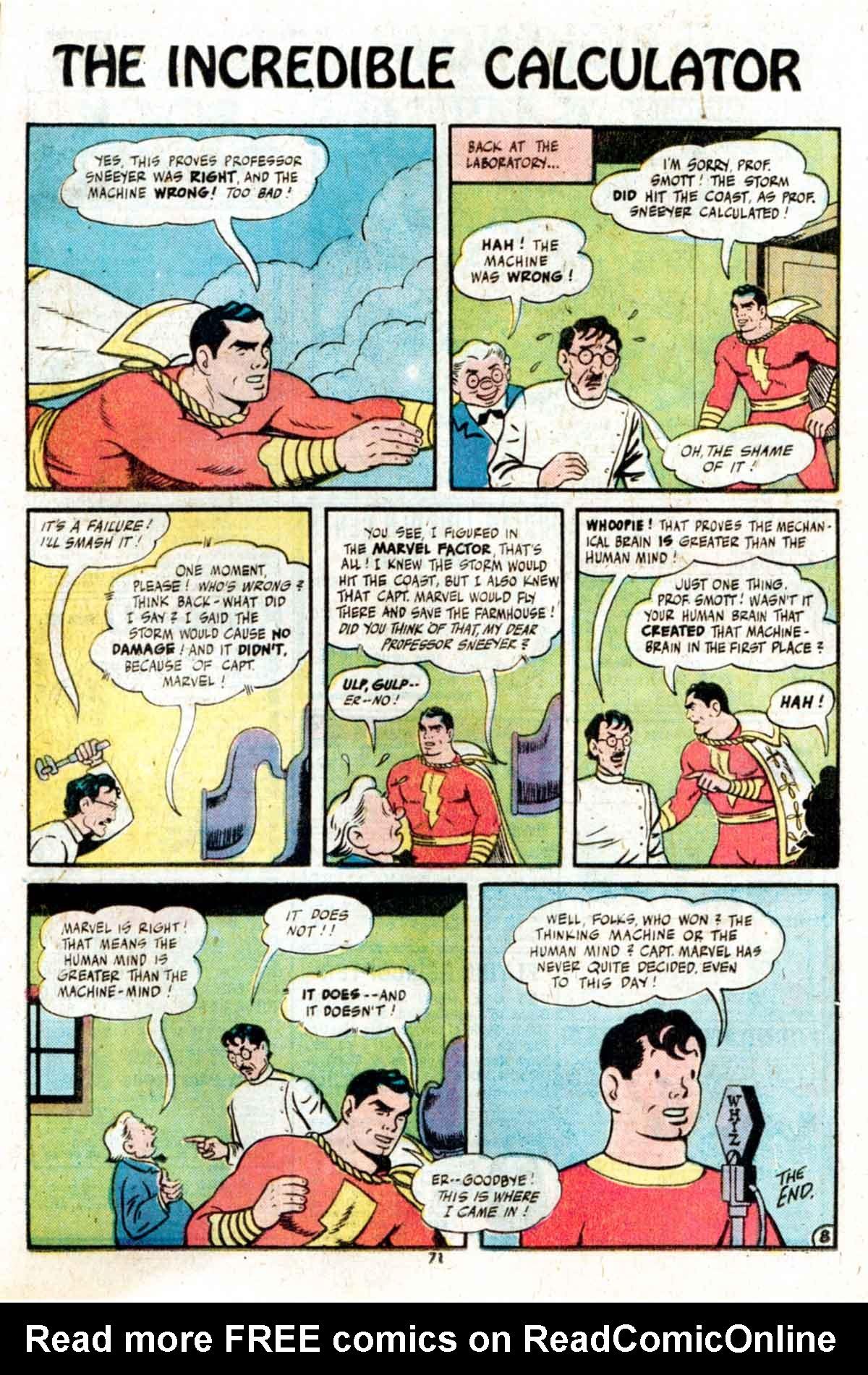 Read online Shazam! (1973) comic -  Issue #15 - 71