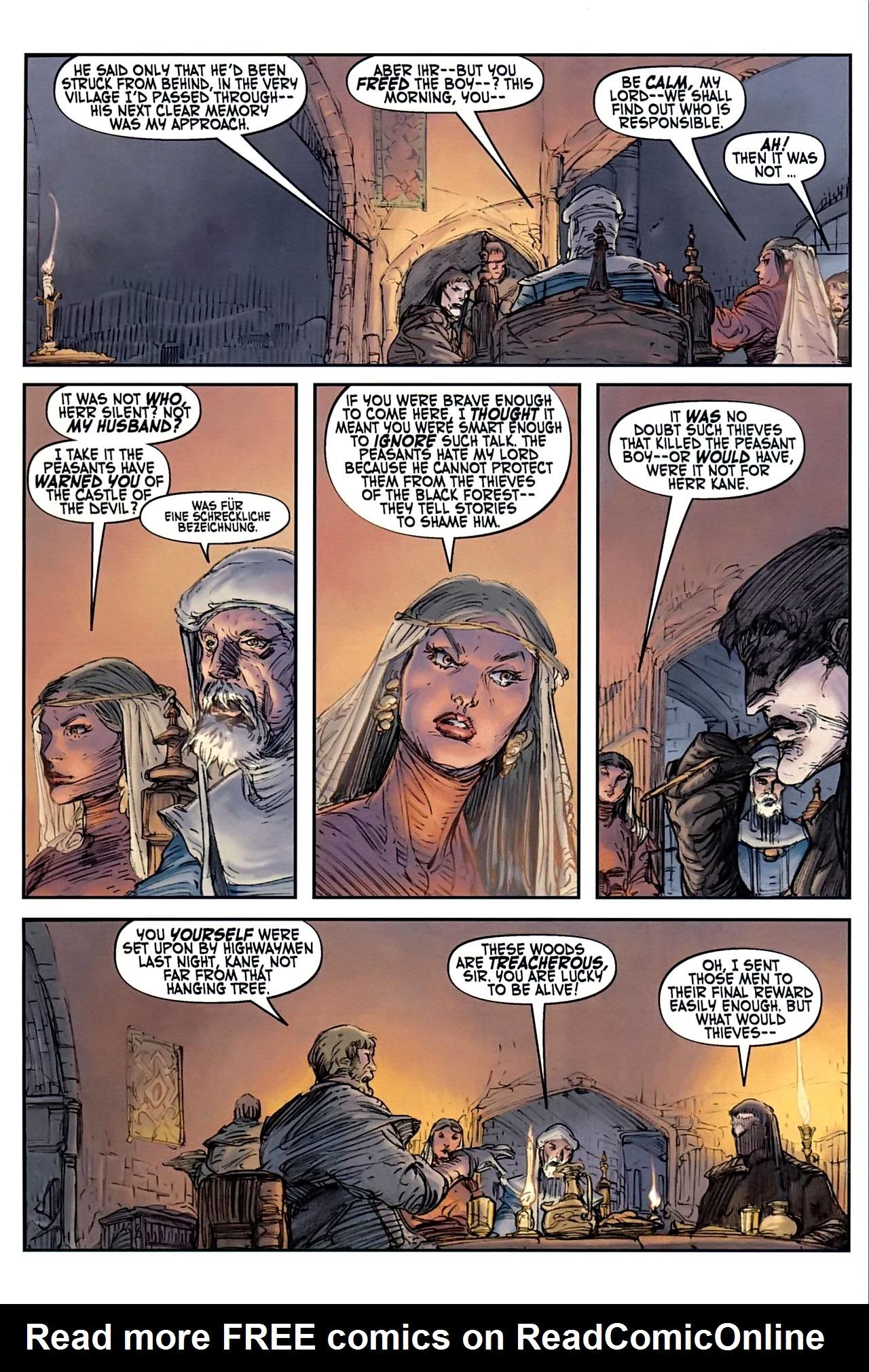 Read online Solomon Kane comic -  Issue #1 - 21