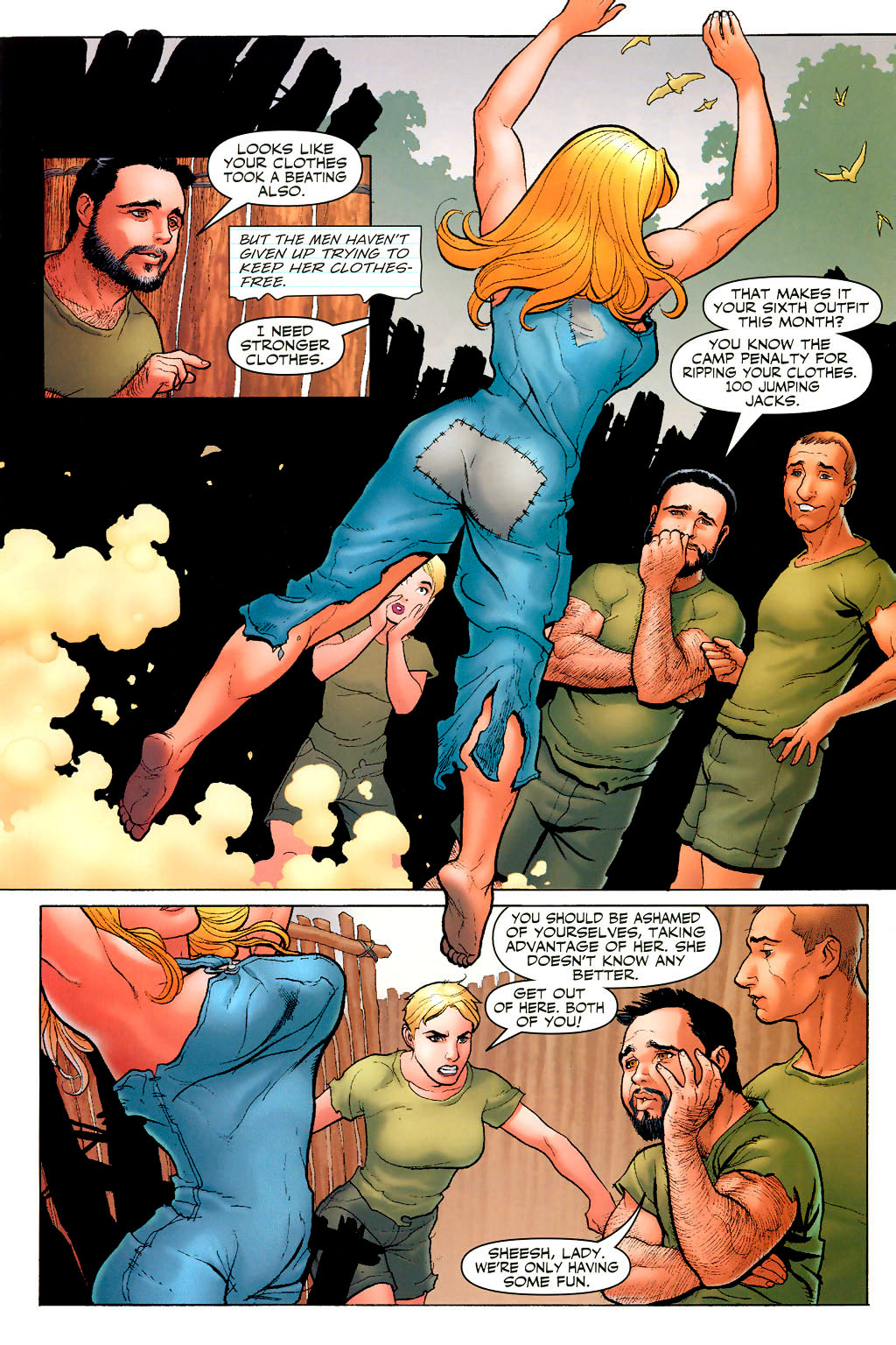 Read online Shanna, the She-Devil (2005) comic -  Issue #2 - 9