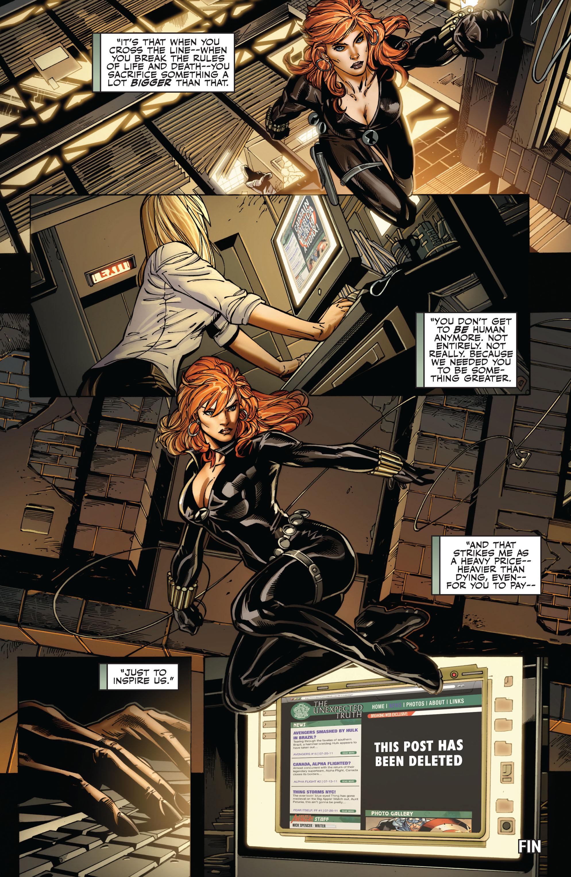 Read online Secret Avengers (2010) comic -  Issue #15 - 22