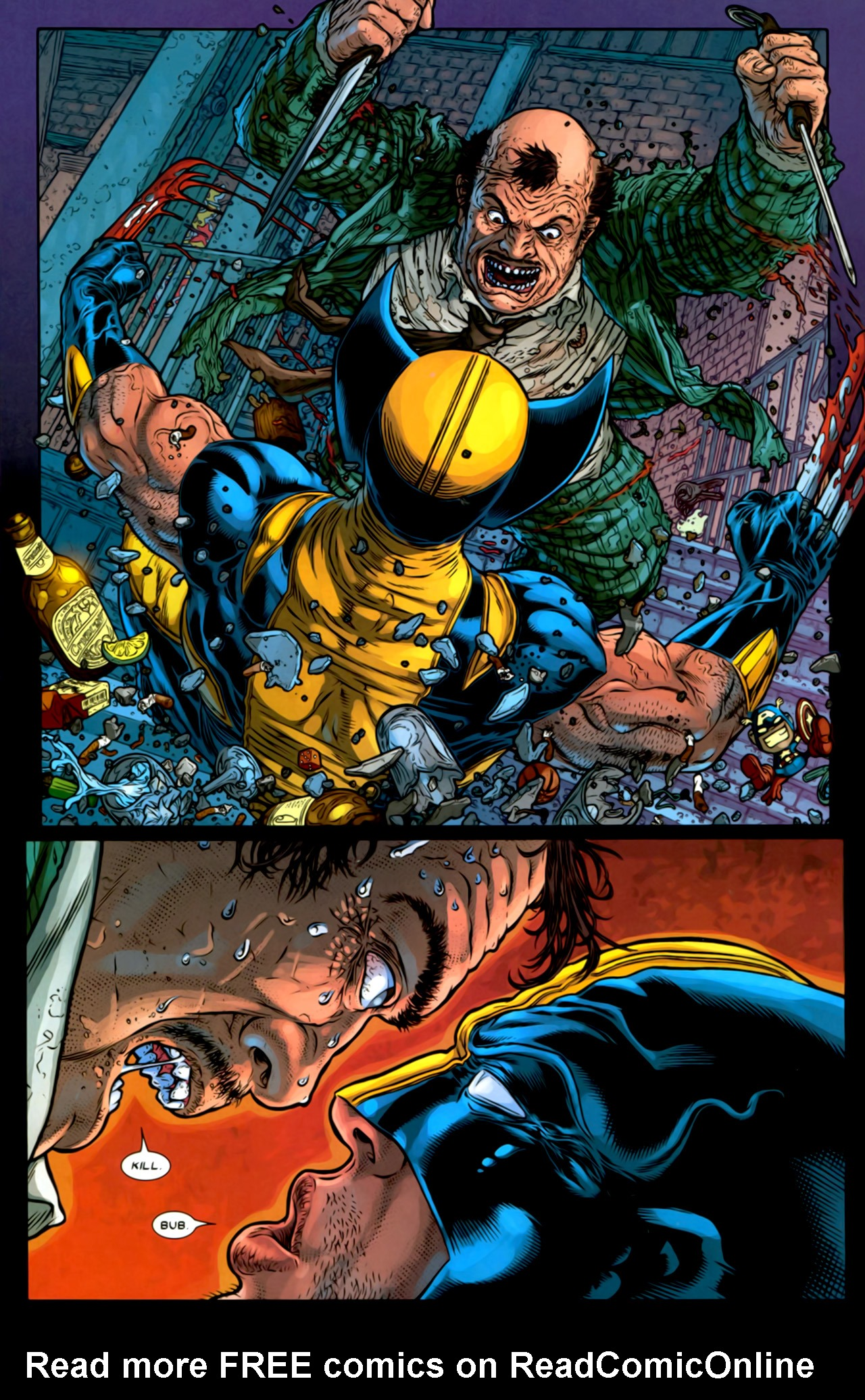 Read online Wolverine: The Best There Is comic -  Issue #2 - 9