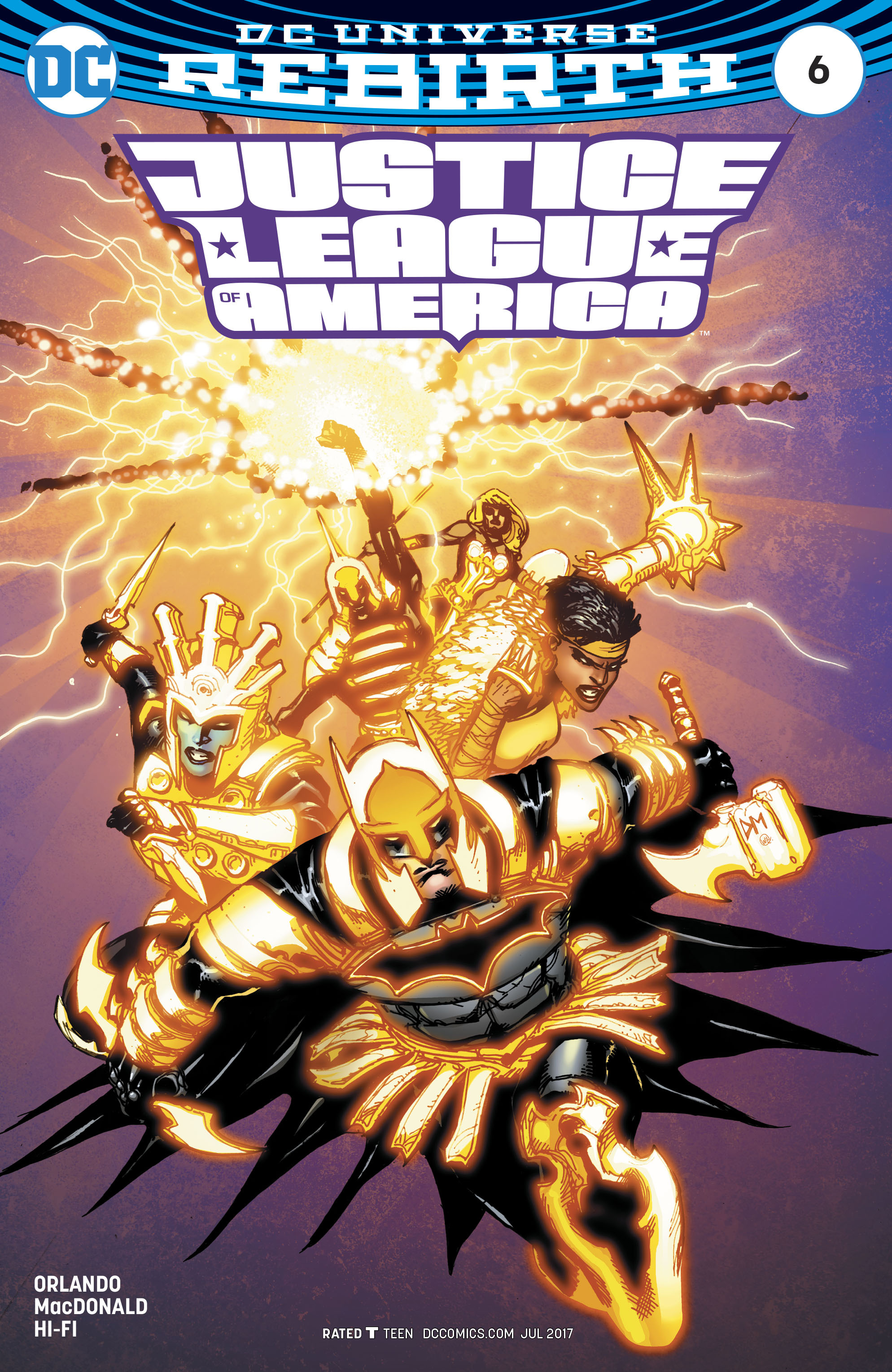 Read online Justice League of America (2017) comic -  Issue #6 - 3