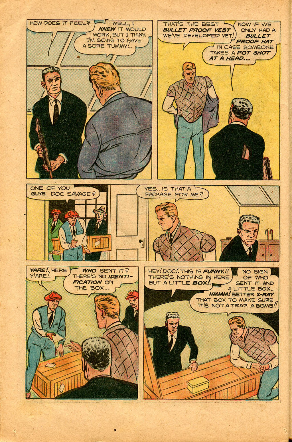 Read online Shadow Comics comic -  Issue #94 - 16