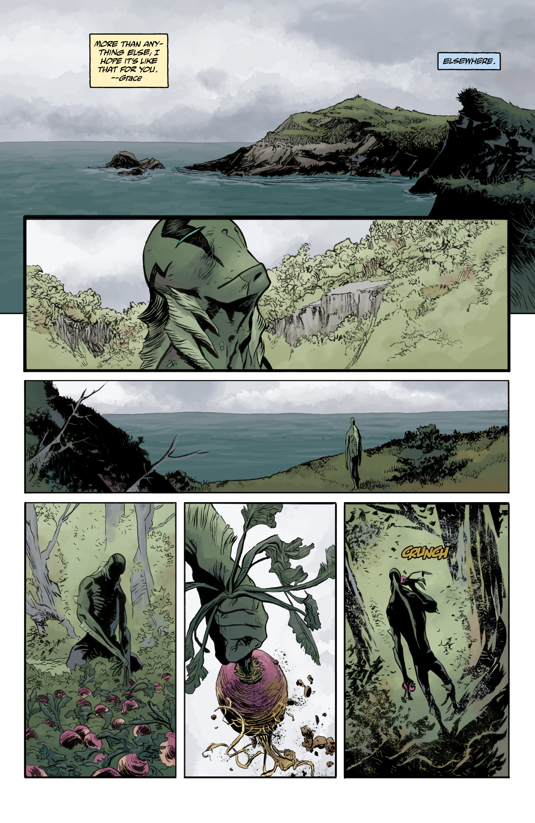 Read online Abe Sapien comic -  Issue #35 - 6