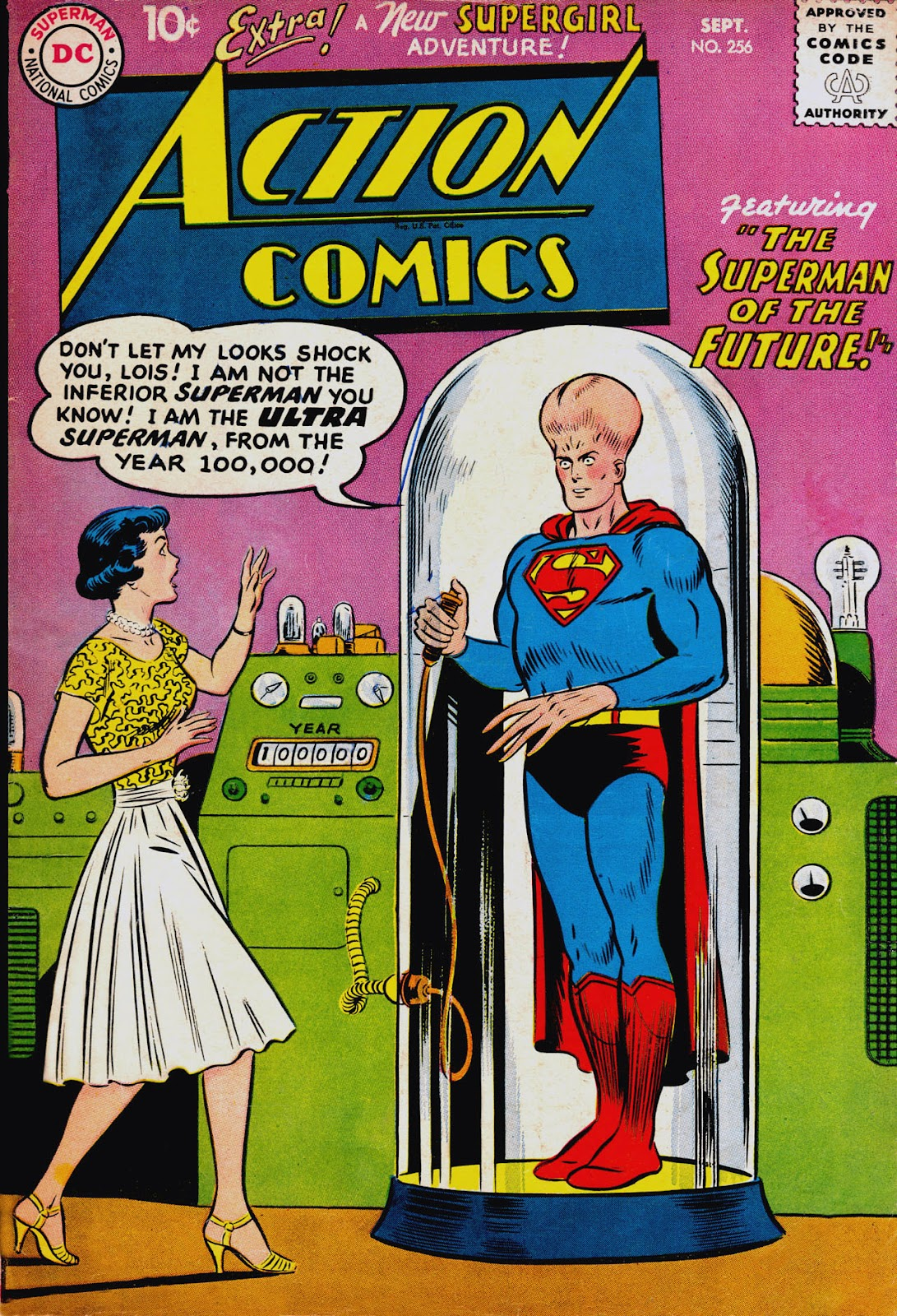 Action Comics (1938) 256 Page 1