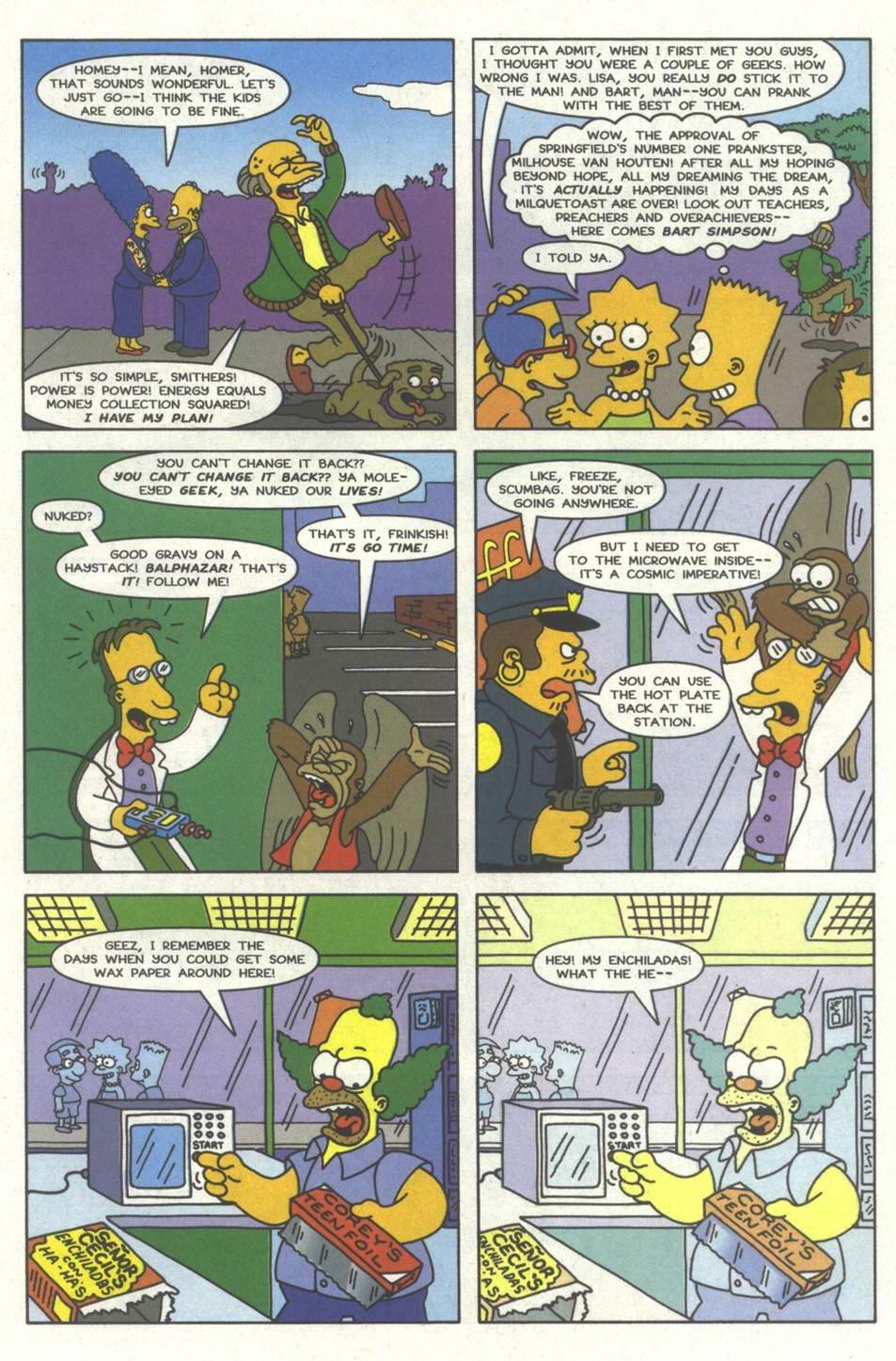 Read online Simpsons Comics comic -  Issue #33 - 22