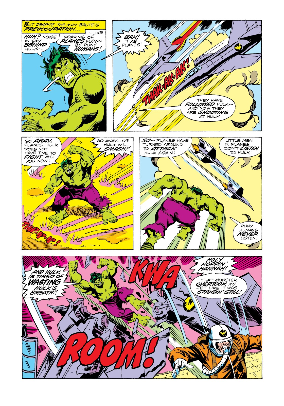 Read online Marvel Masterworks: The Incredible Hulk comic -  Issue # TPB 12 (Part 3) - 12