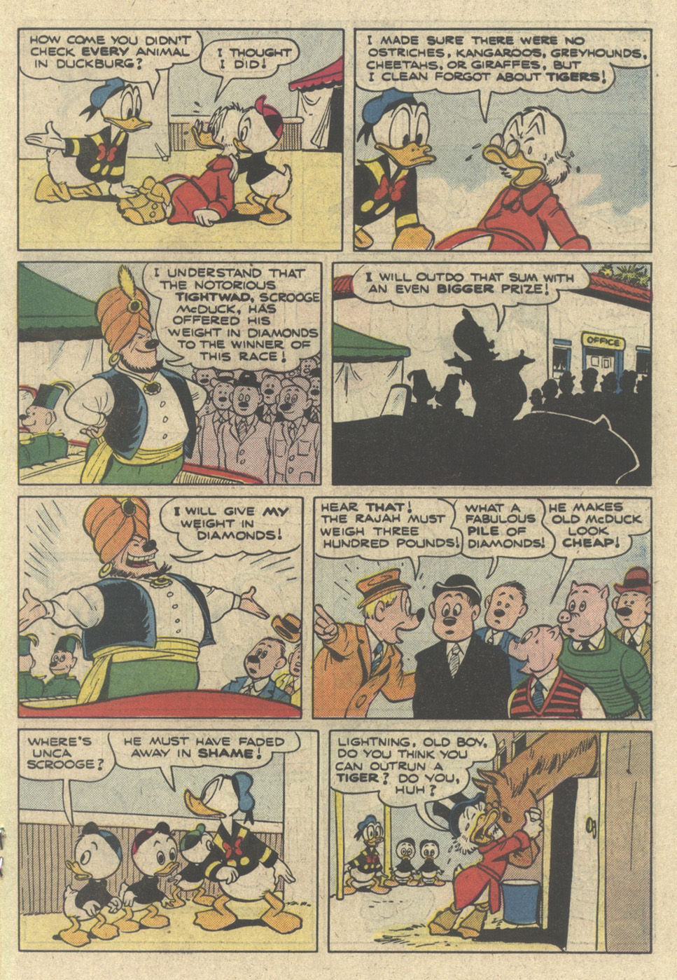 Read online Uncle Scrooge (1953) comic -  Issue #214 - 19