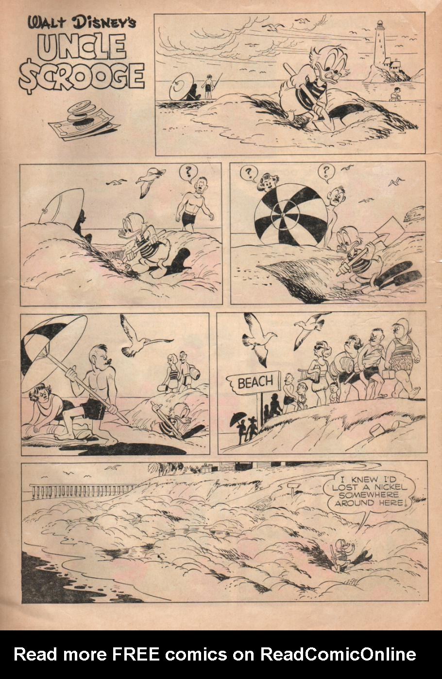 Read online Uncle Scrooge (1953) comic -  Issue #6 - 35
