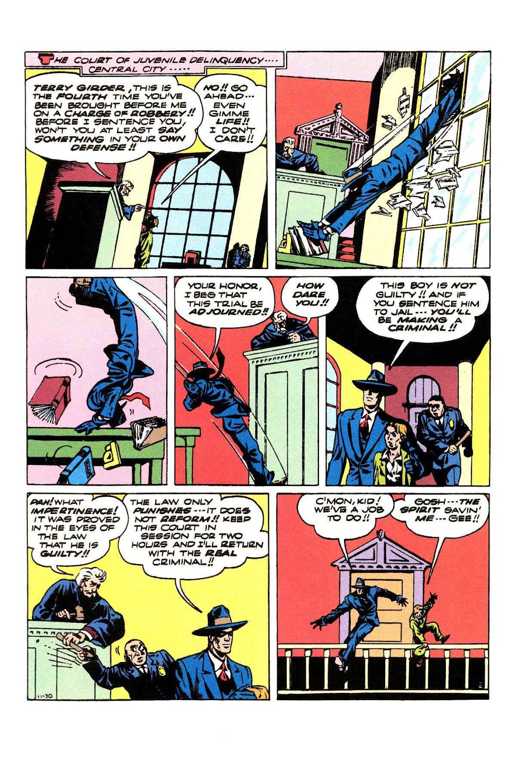Read online Will Eisner's The Spirit Archives comic -  Issue # TPB 3 (Part 2) - 71