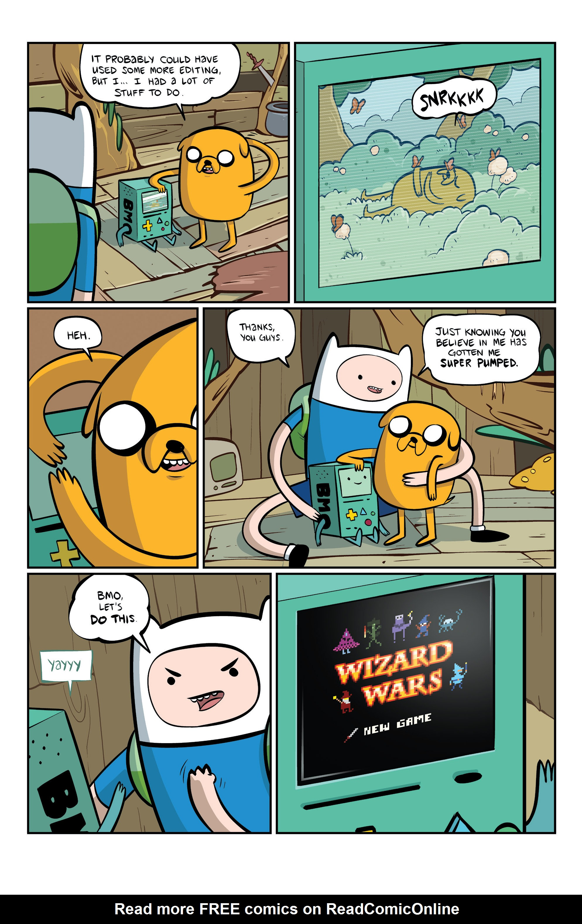 Read online Adventure Time comic -  Issue #6 - 26