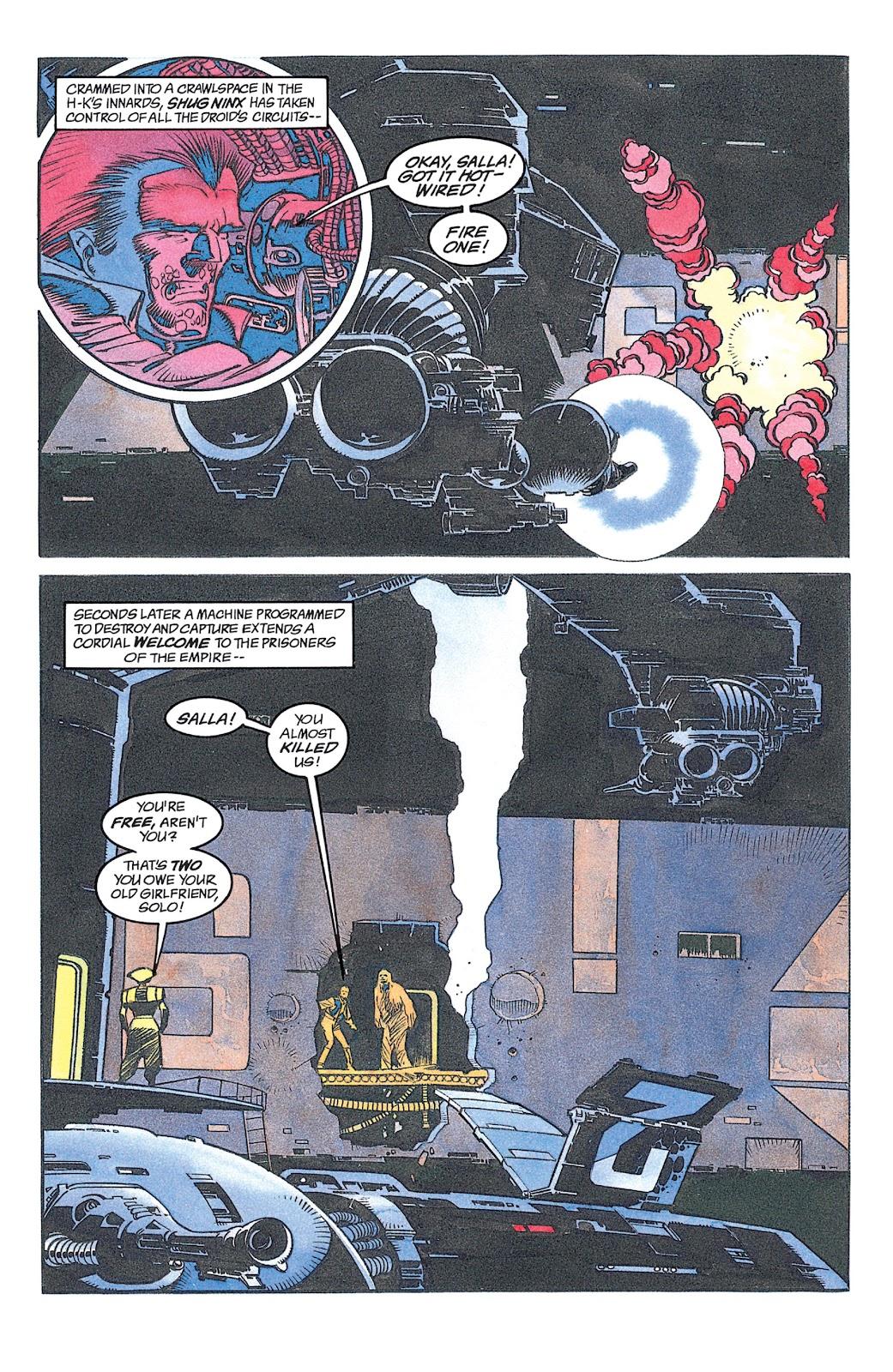 Read online Star Wars: Dark Empire Trilogy comic -  Issue # TPB (Part 2) - 20