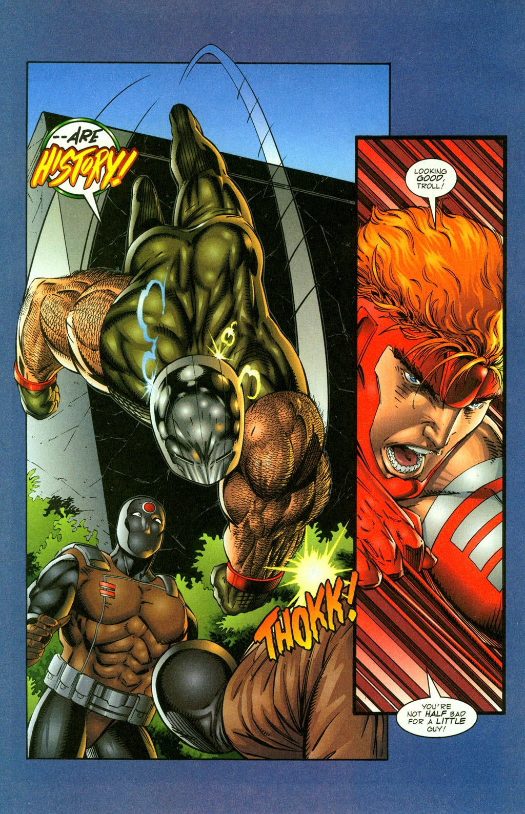 Read online Youngblood GT Interactive Ultra Game Players Special Edition comic -  Issue # Full - 15