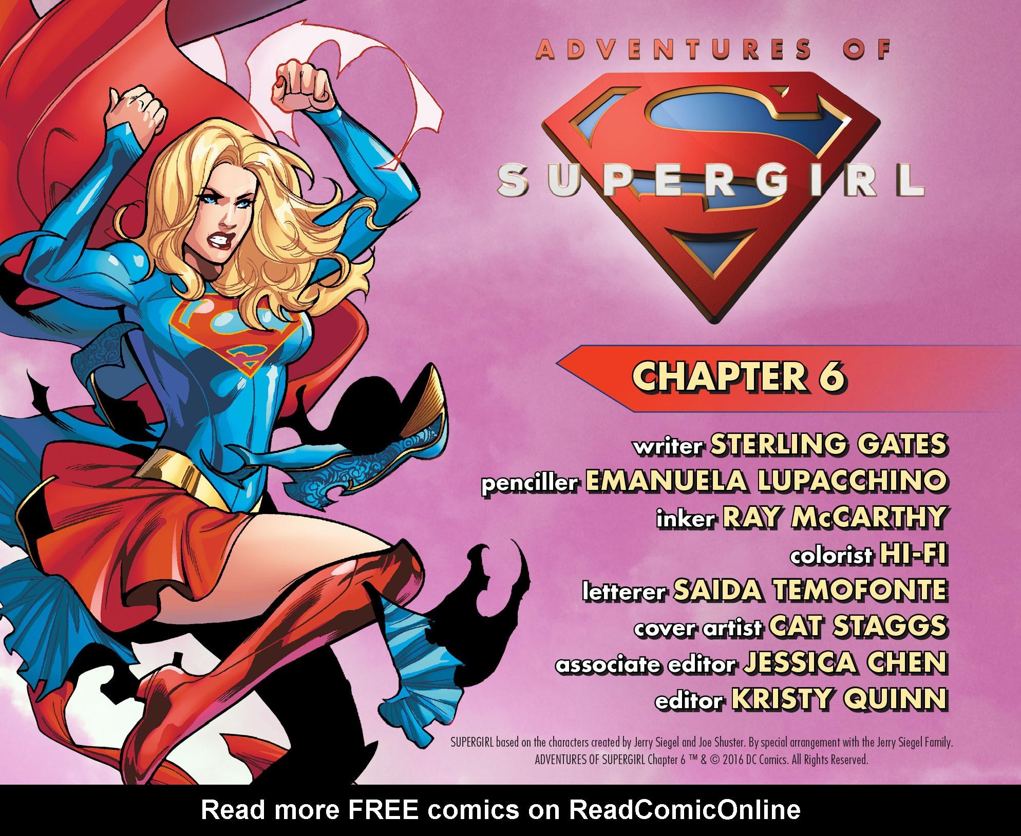 Read online Adventures of Supergirl comic -  Issue #6 - 2
