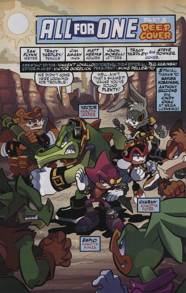 Read online Sonic Universe comic -  Issue #48 - 4