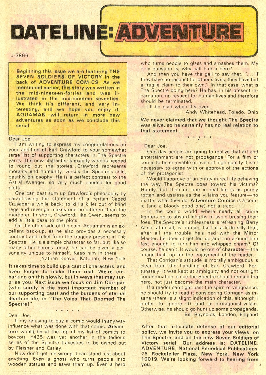 Read online Adventure Comics (1938) comic -  Issue #438 - 12