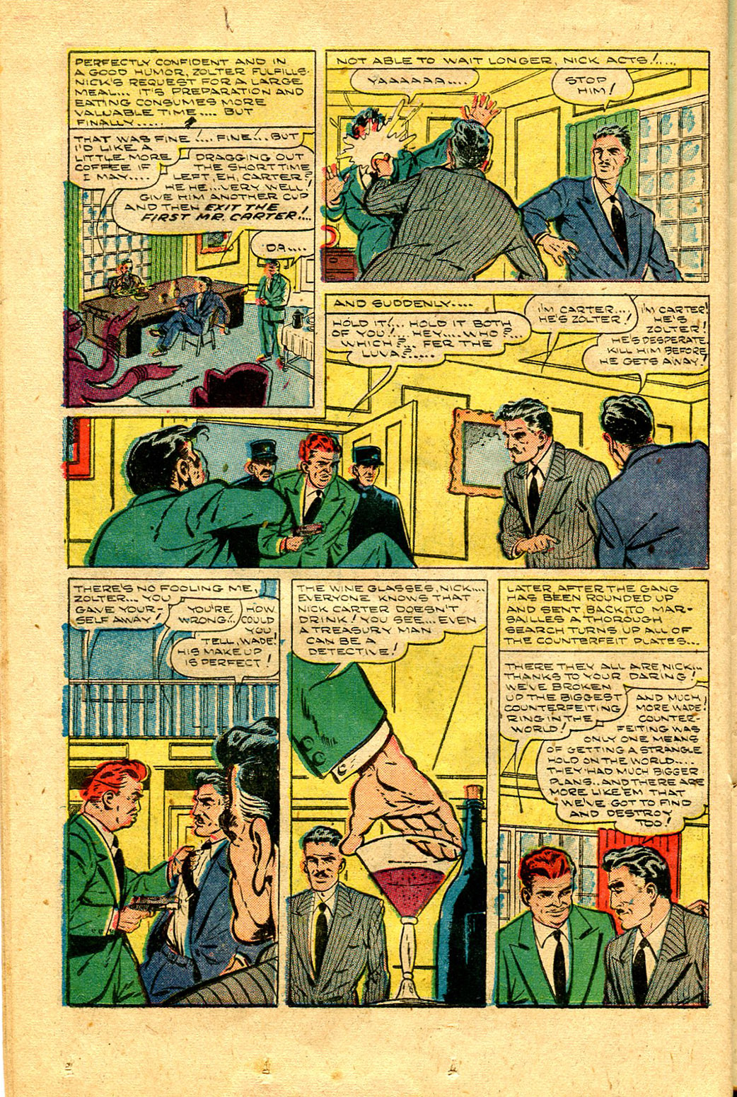 Read online Shadow Comics comic -  Issue #100 - 36