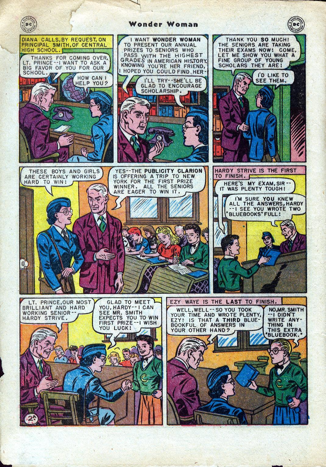 Read online Wonder Woman (1942) comic -  Issue #24 - 4