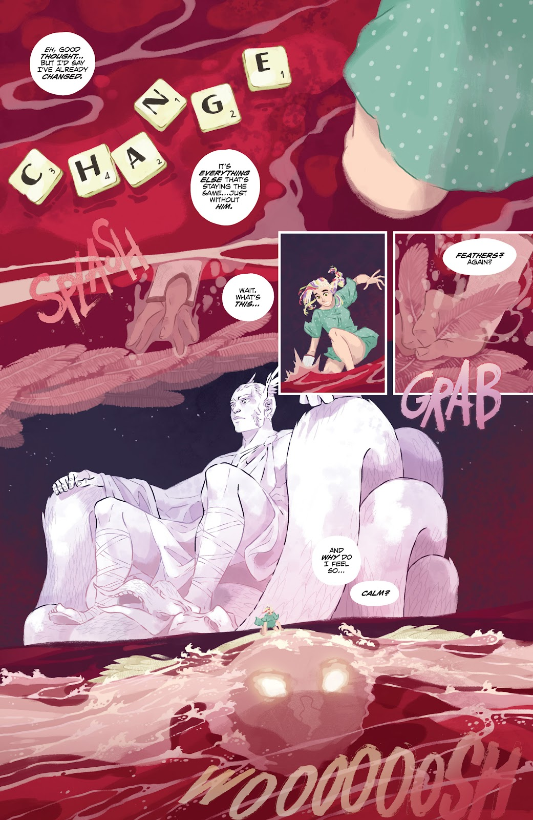 Read online Nomen Omen comic -  Issue #3 - 7