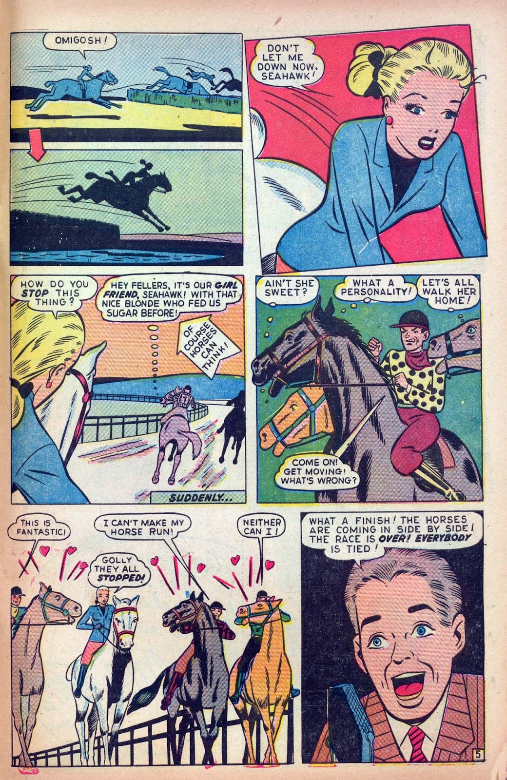 Read online Millie the Model comic -  Issue #13 - 47
