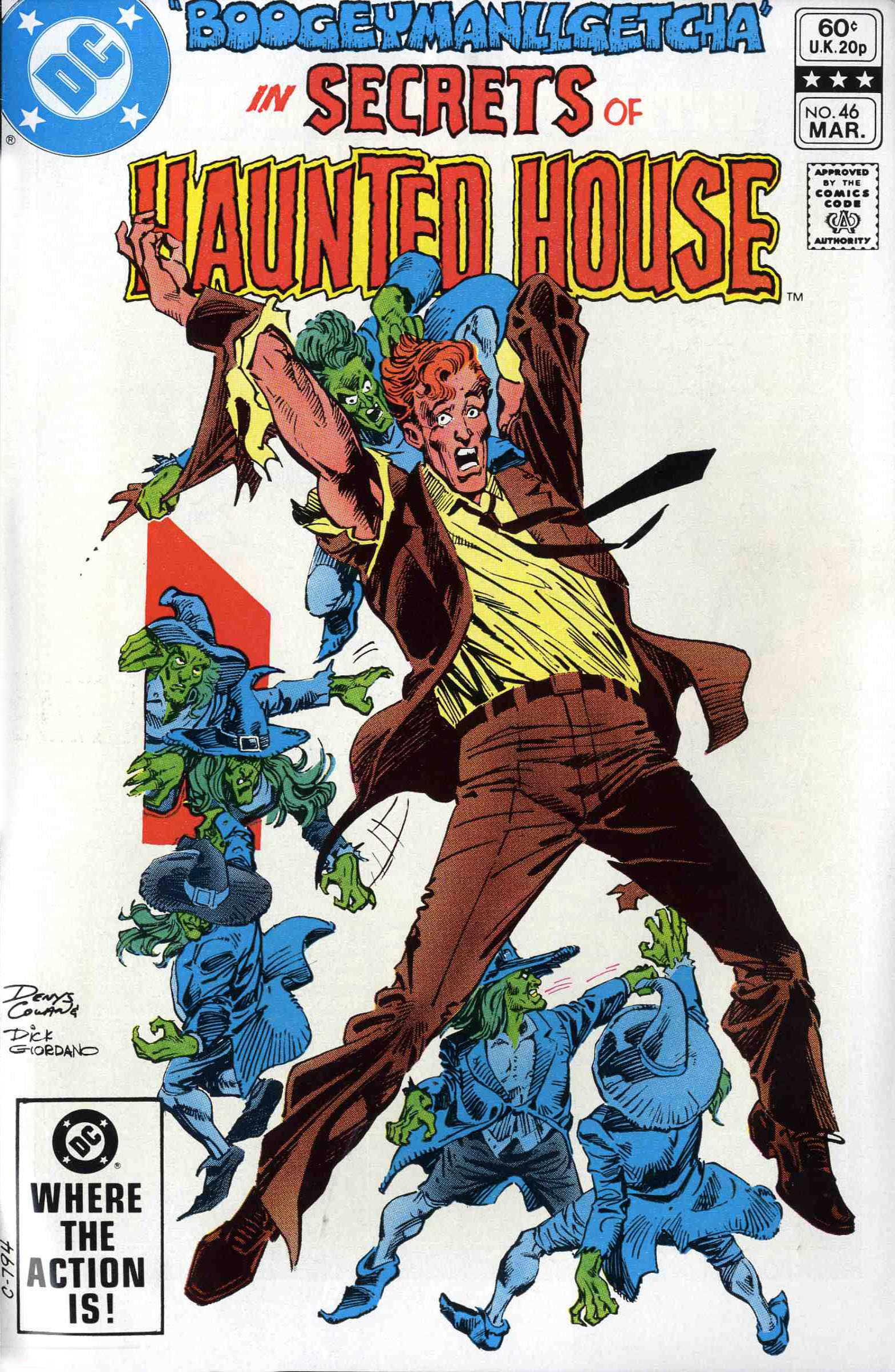 Read online Secrets of Haunted House comic -  Issue #46 - 1