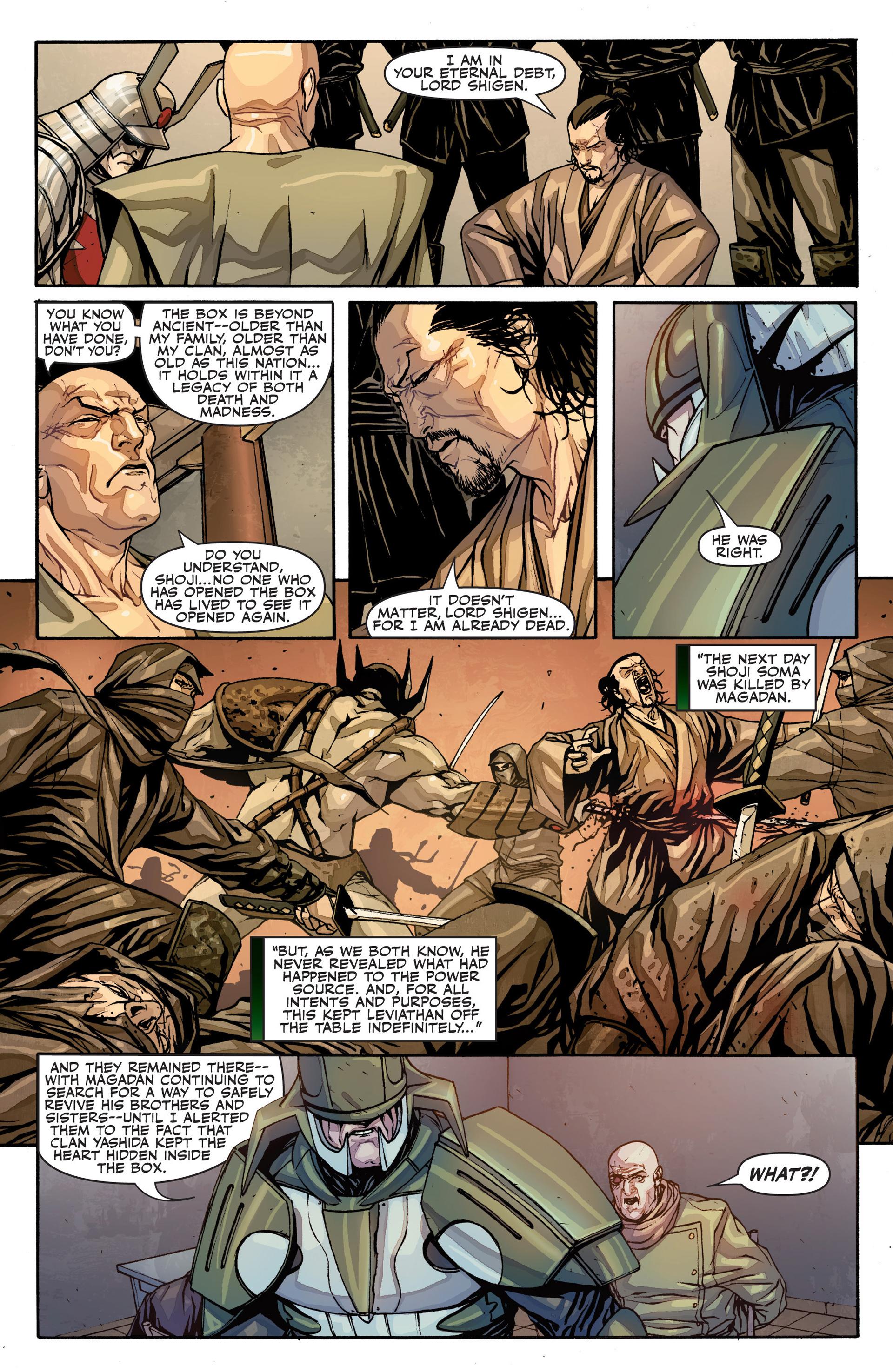 Read online Secret Warriors comic -  Issue #26 - 14
