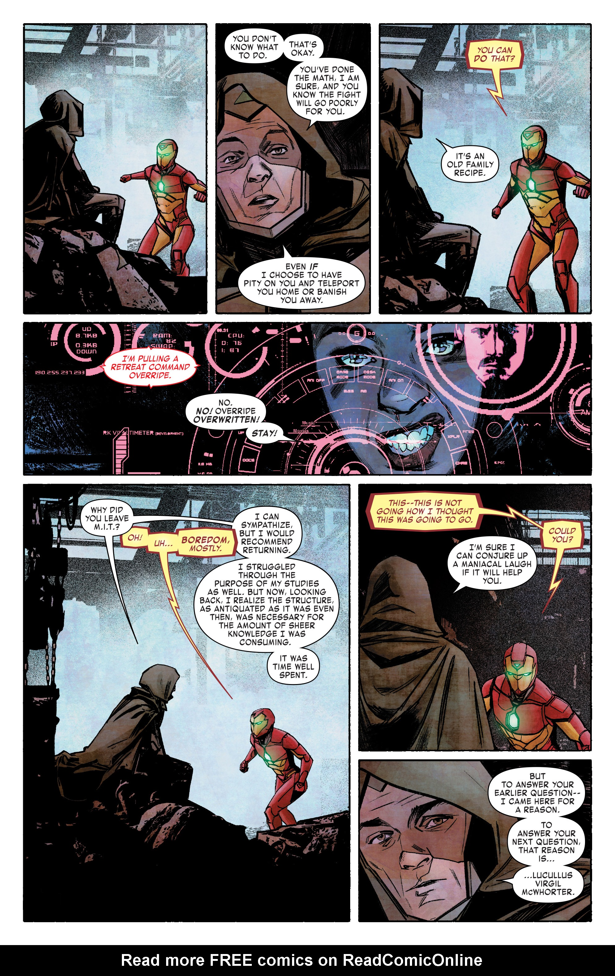 Read online Infamous Iron Man comic -  Issue #8 - 12