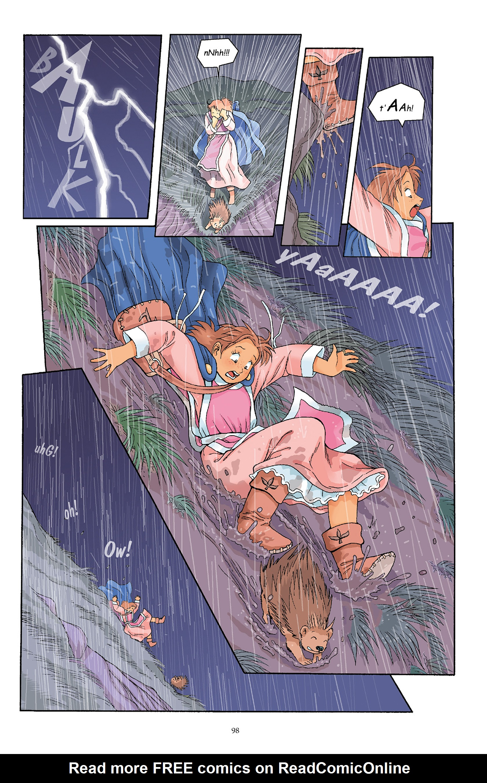 Read online Courageous Princess comic -  Issue # TPB 1 - 98
