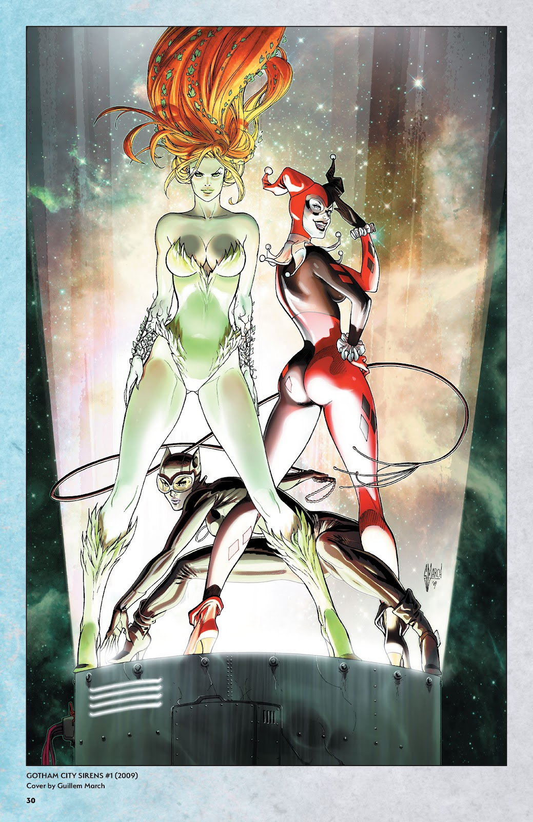 Read online Harley Quinn: A Rogue's Gallery―The Deluxe Cover Art Collection comic -  Issue # TPB (Part 1) - 29