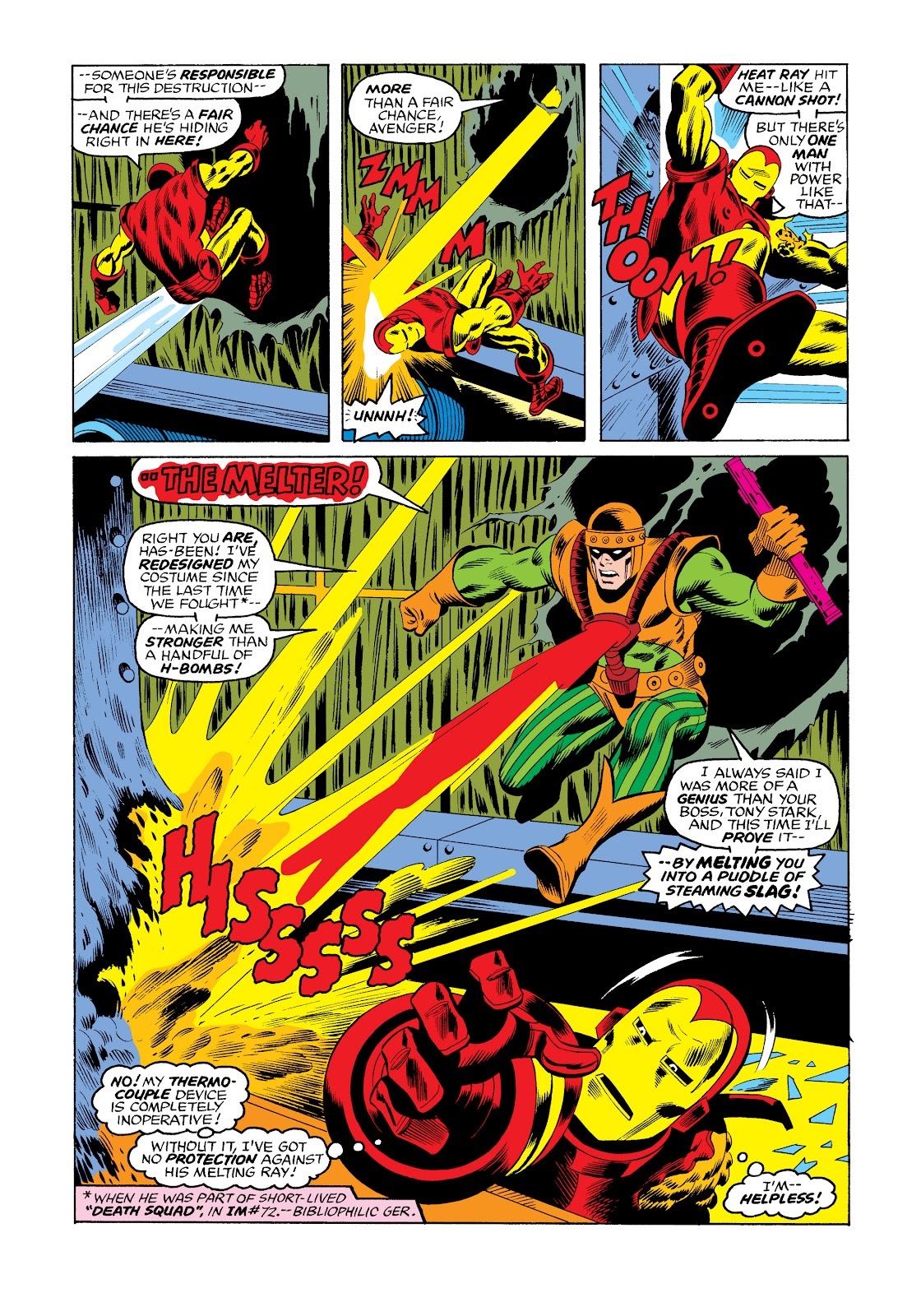 Read online Marvel Masterworks: The Invincible Iron Man comic -  Issue # TPB 11 (Part 3) - 36